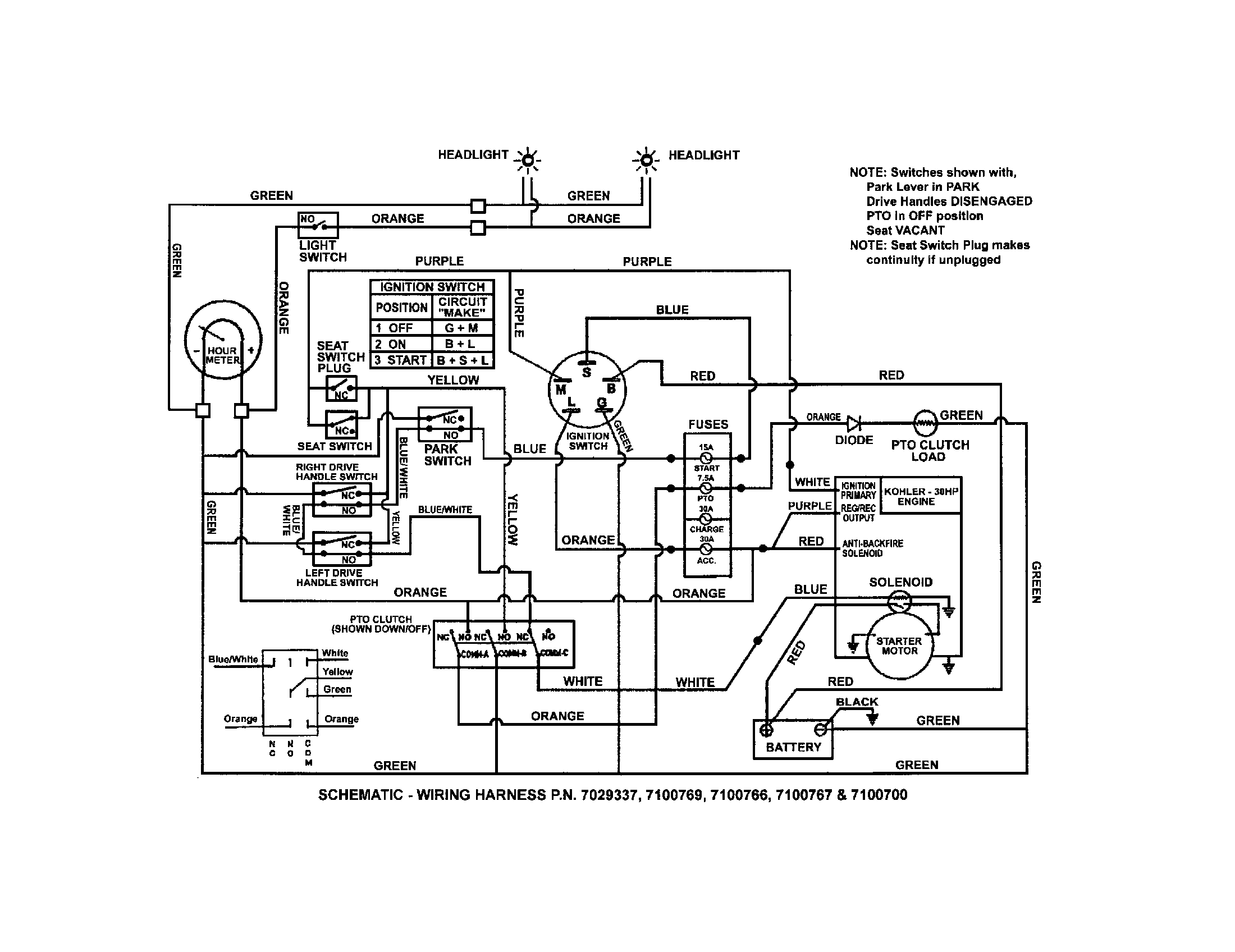 scag tiger cat wiring diagram