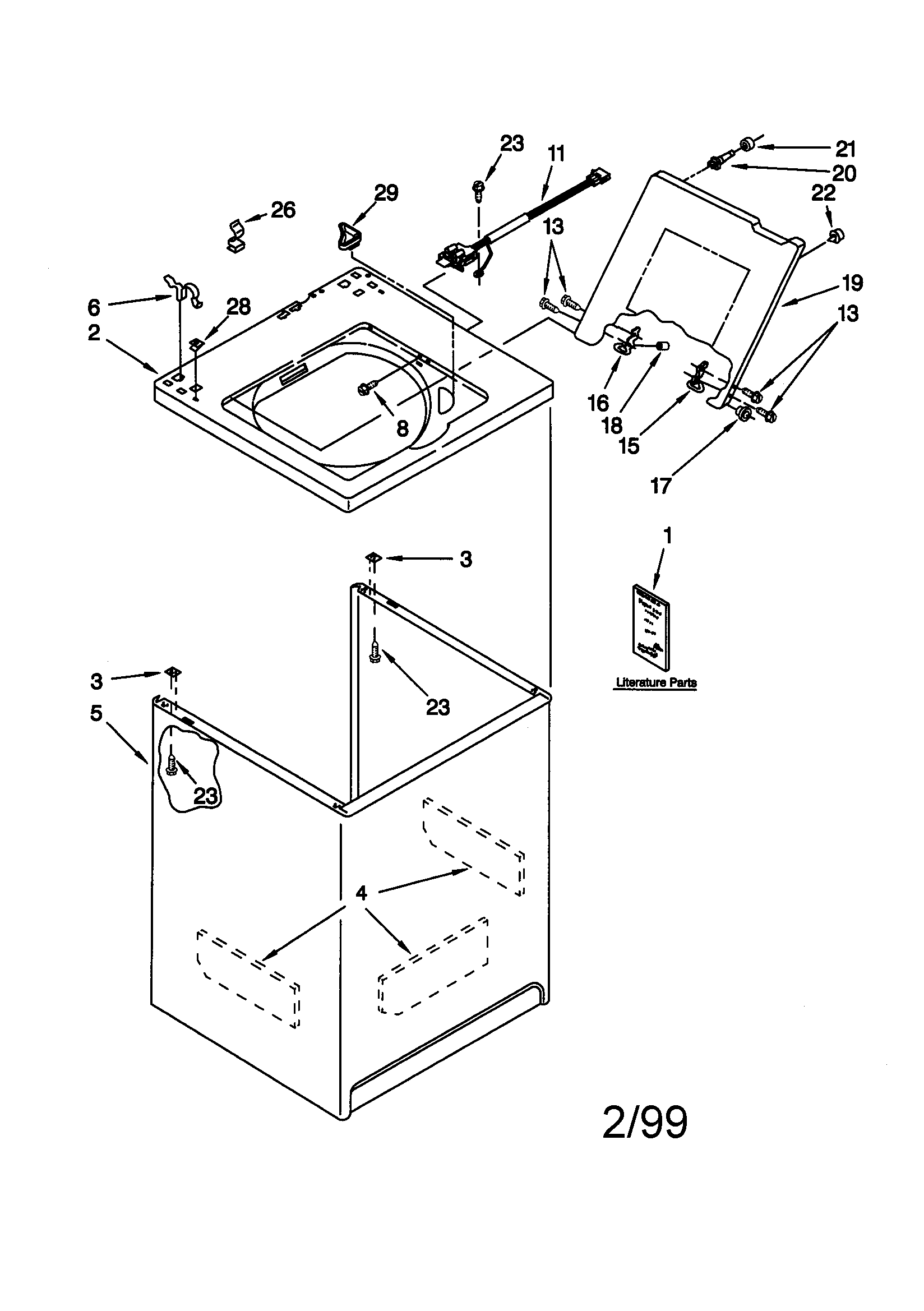 wiring diagram for kenmore washer model 2130