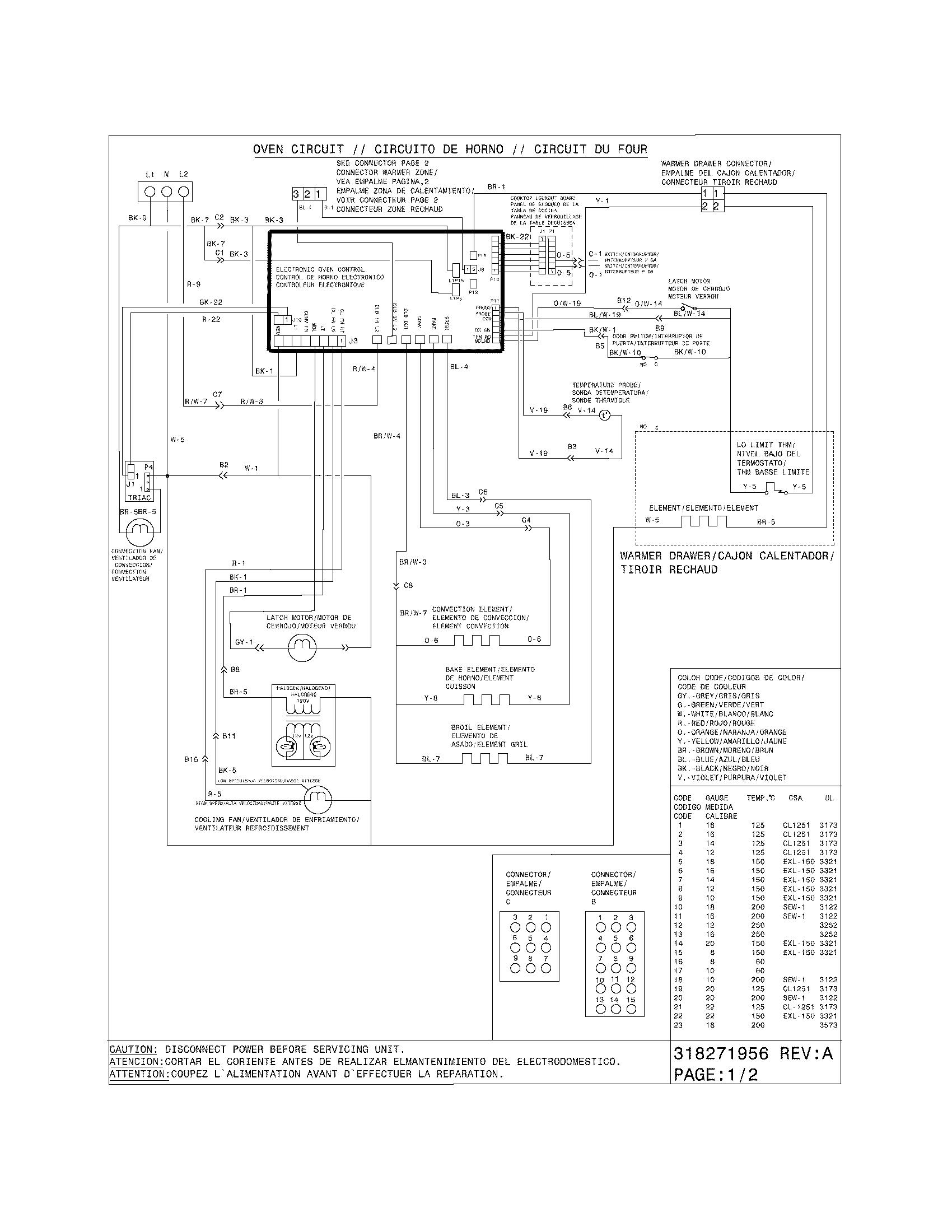 kenmore elite wiring diagram on electric range wiring size
