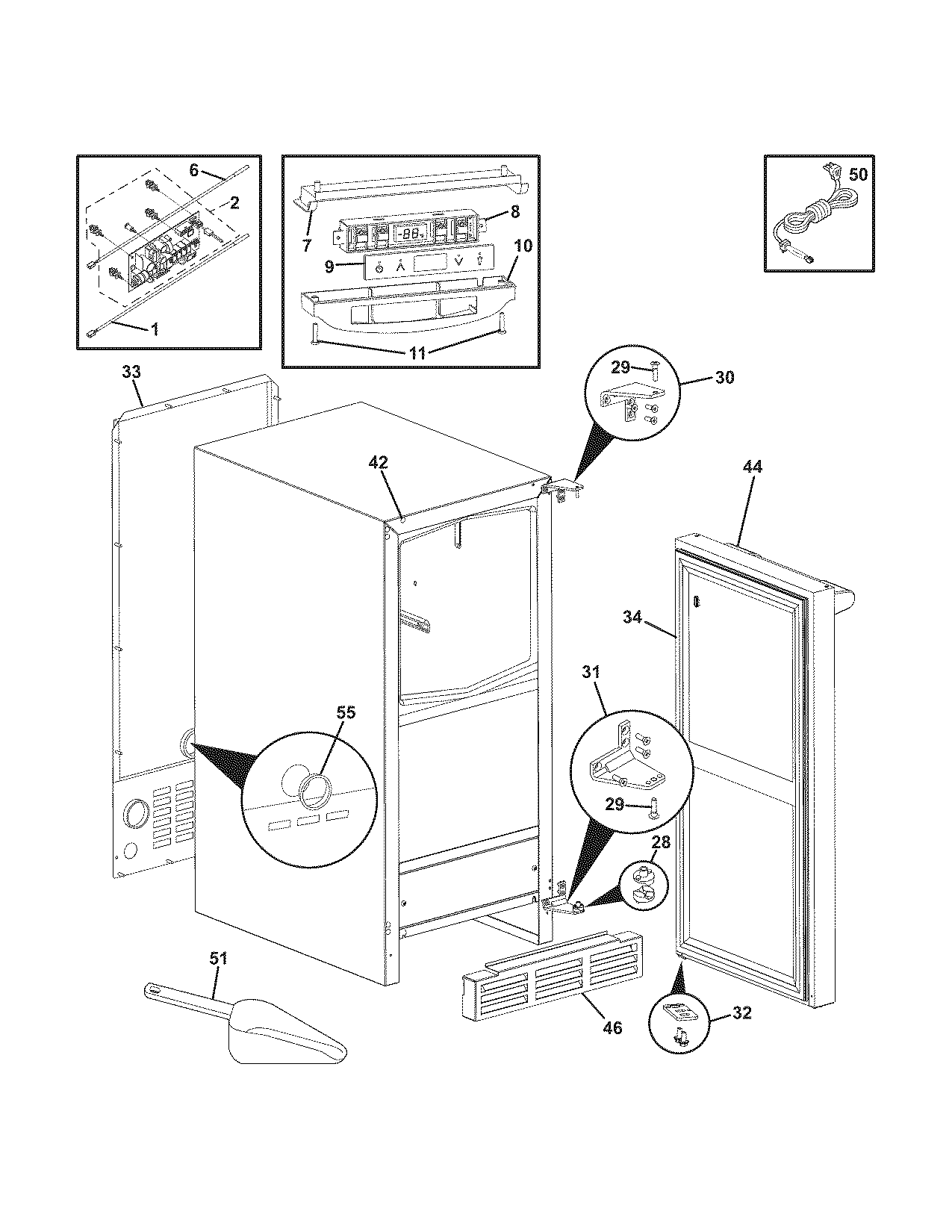 electrolux ice maker parts diagram on electrolux ice maker wiring