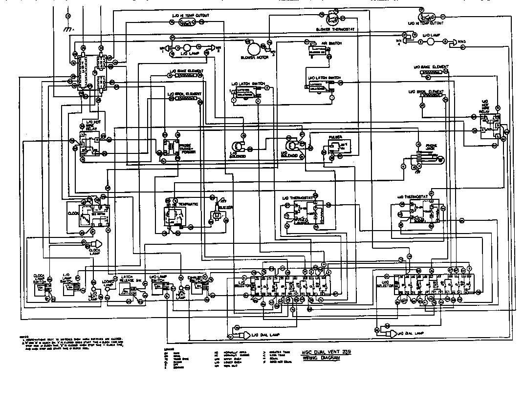thermador double oven wiring diagram