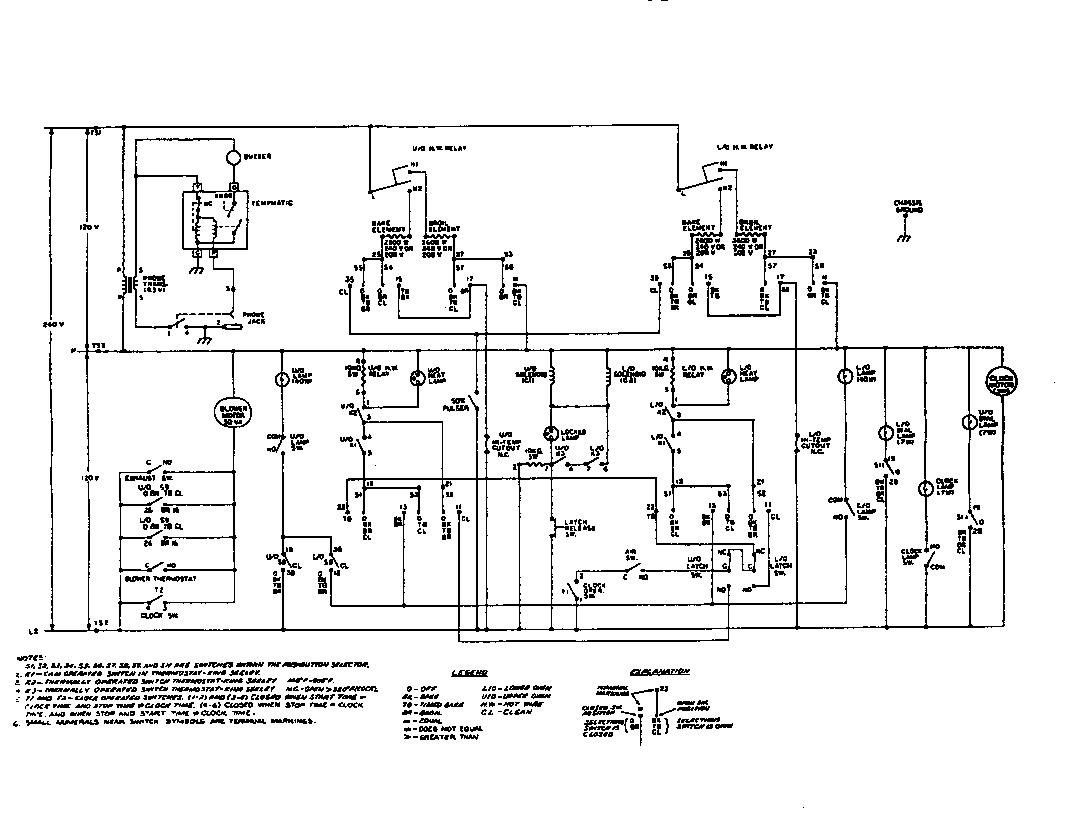 defy 521 stove wiring diagram
