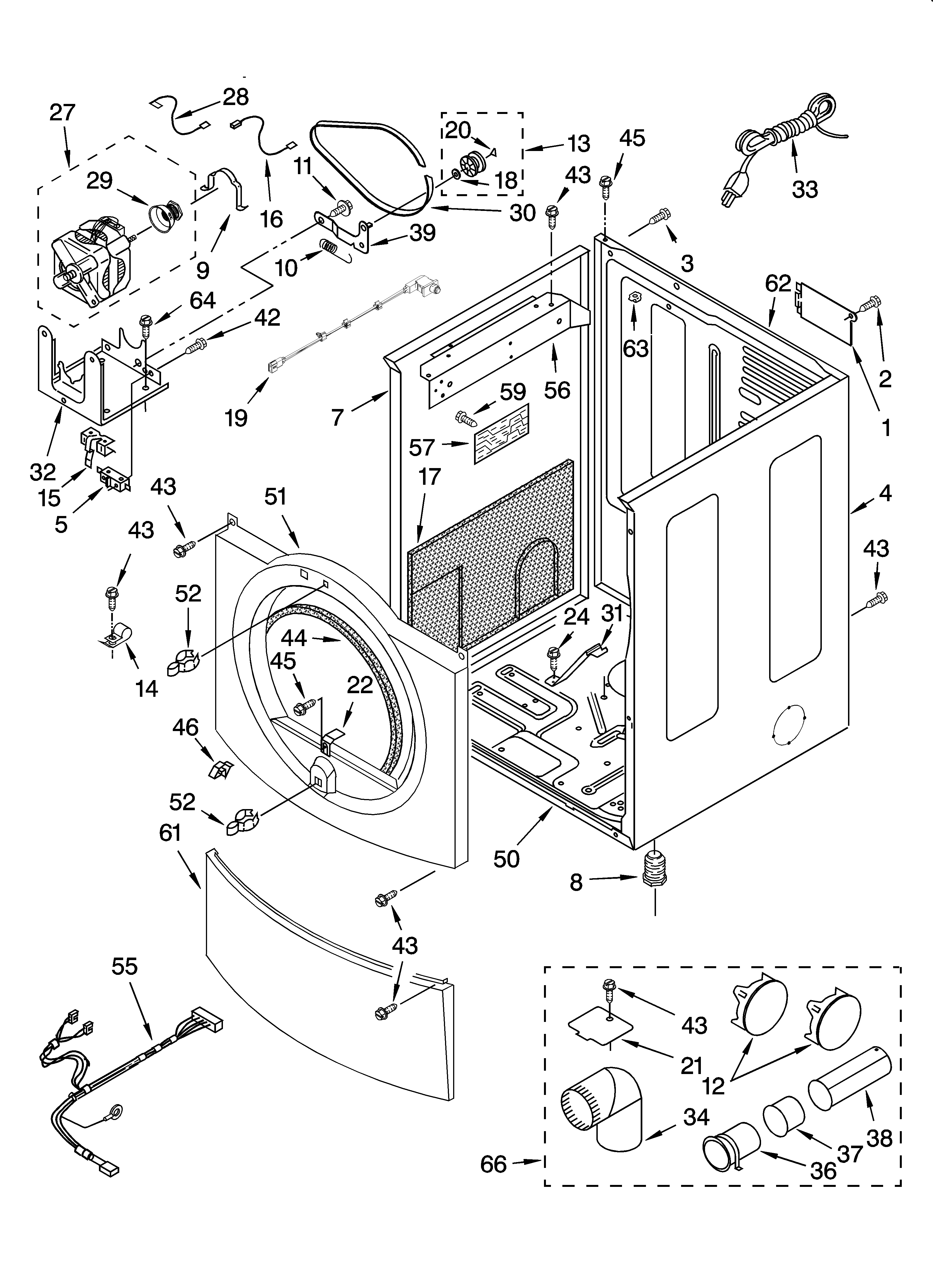wiring diagram for whirlpool dryer wed6600vw0