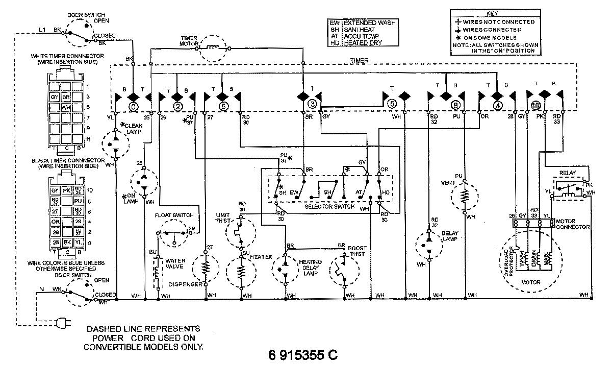 wiring diagram dishwasher