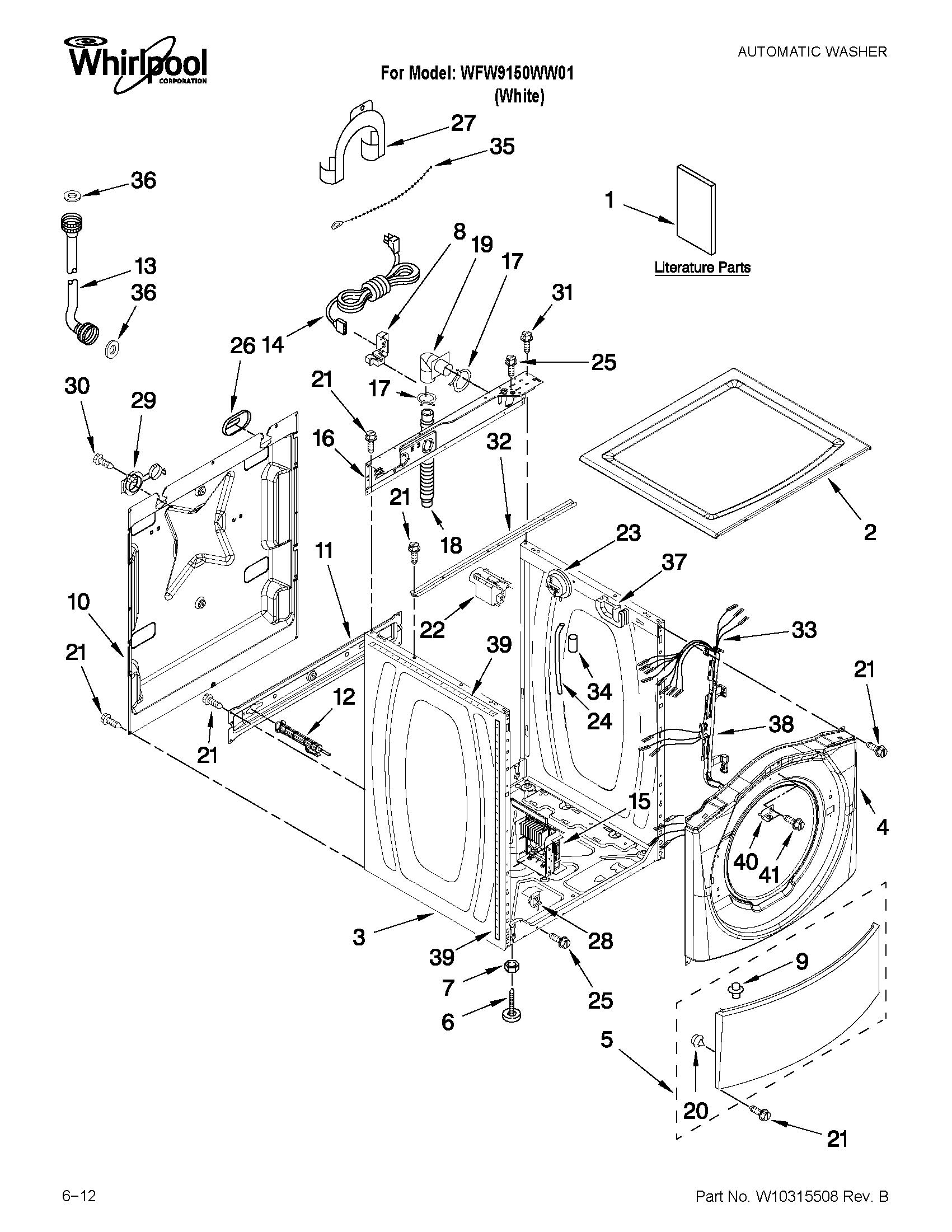 Stupendous Whirlpool Duet Sport Wiring Diagram Auto Electrical Wiring Diagram Wiring 101 Cularstreekradiomeanderfmnl
