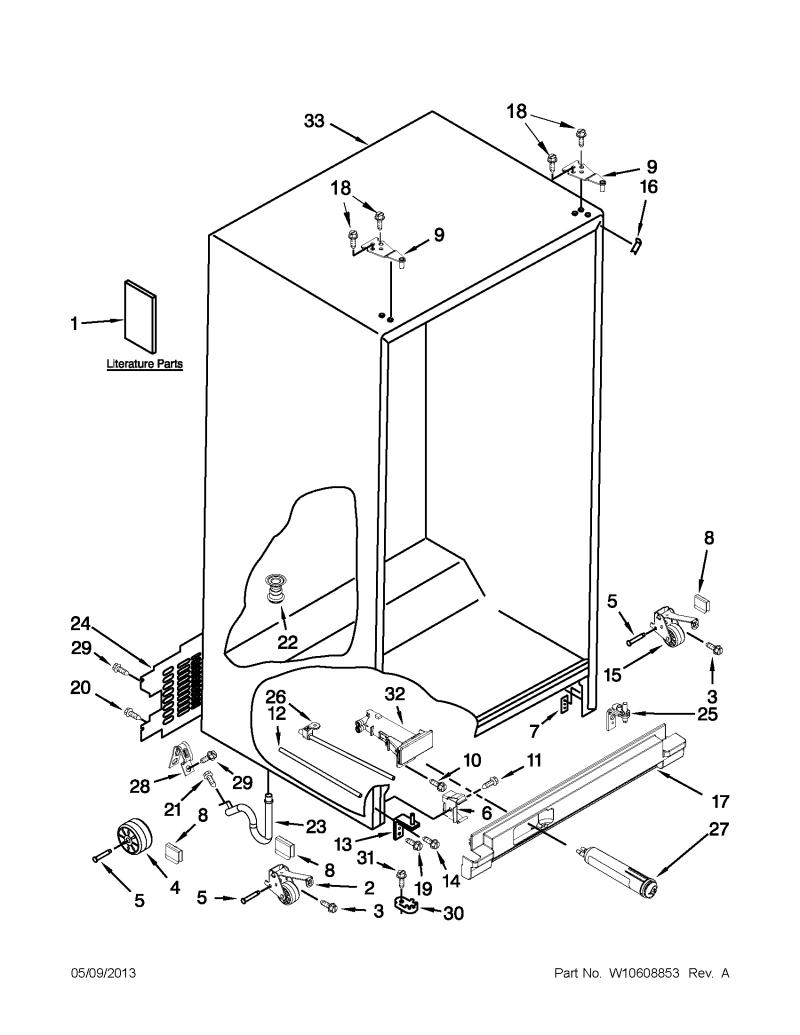 Imposing Amana Model Side By Refrigerator Parts Washing Machine Wiring Diagram Fullsize Of Washer Large