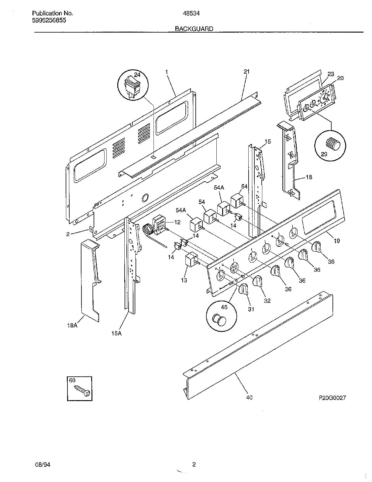admiral cooktop wiring diagram