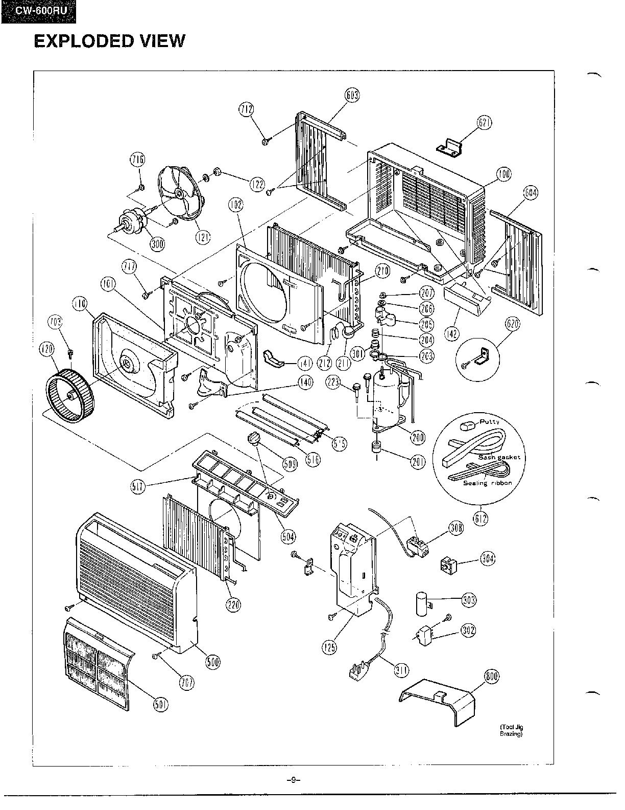 room air conditioner wiring diagrams