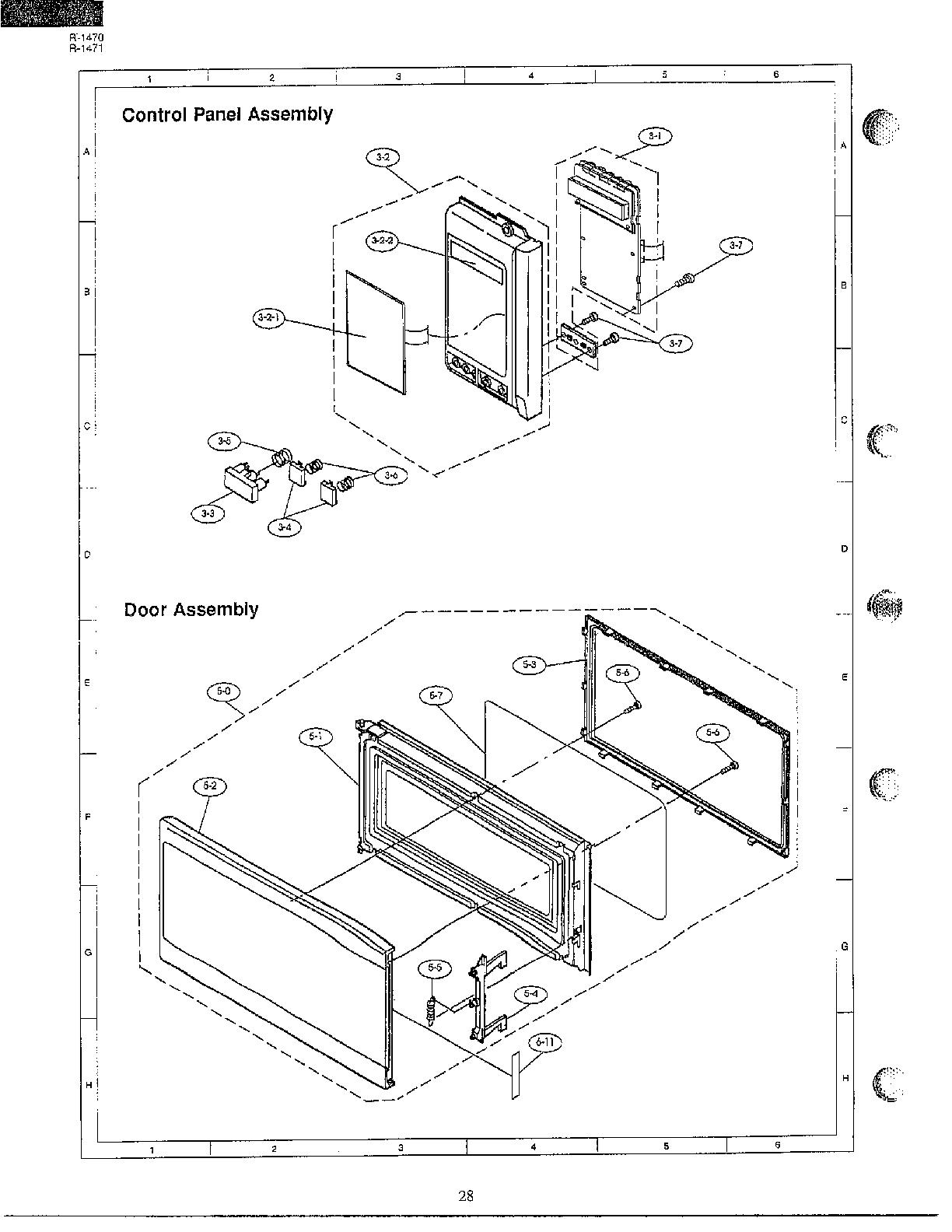 sharp carousel microwave wiring diagram