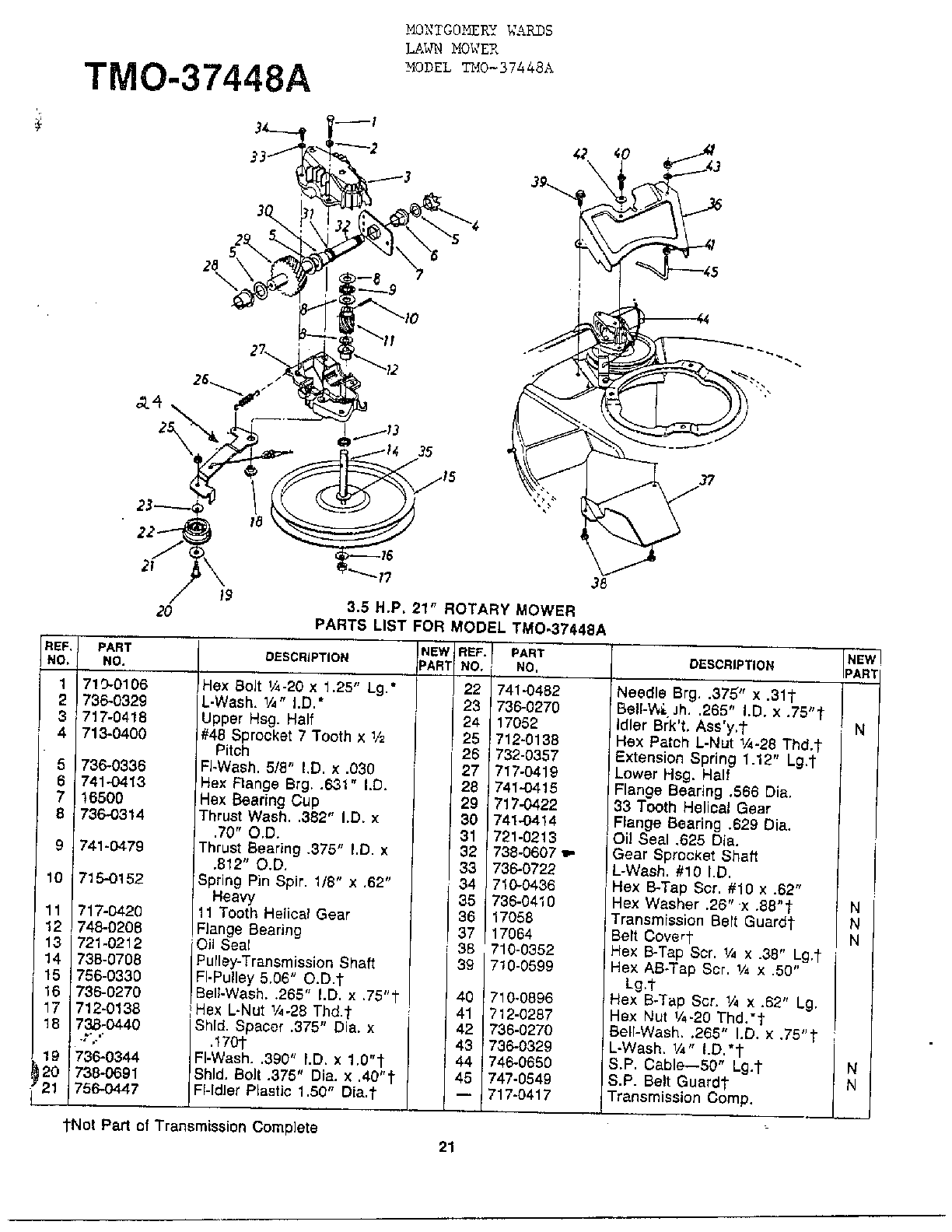 tecumseh 4cycle engine diagram and parts list for tecumseh all