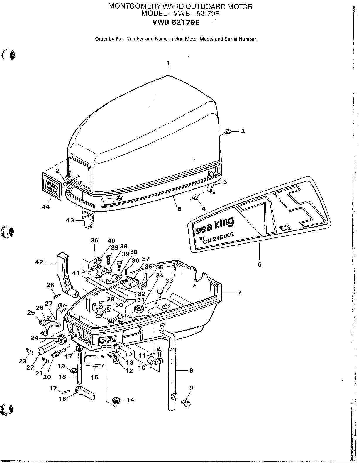 mercury marine engine diagrams