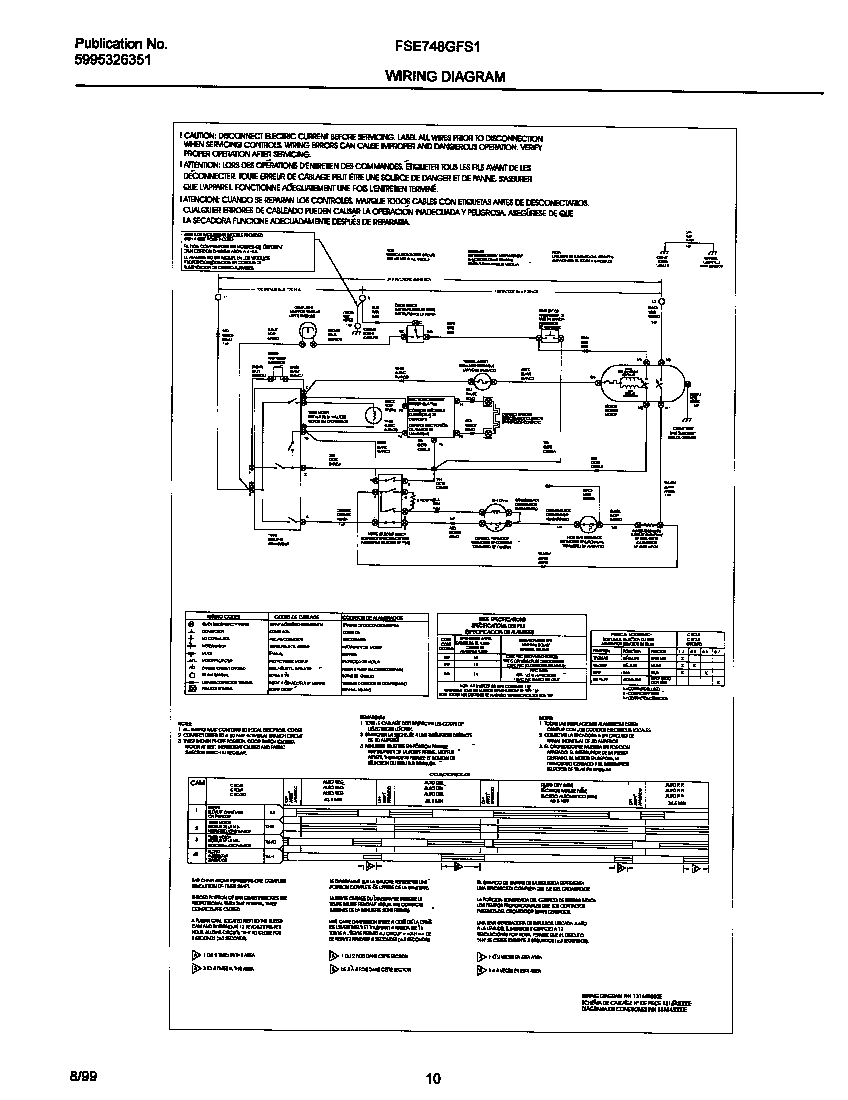 frigidaire affinity dryer wiring diagram