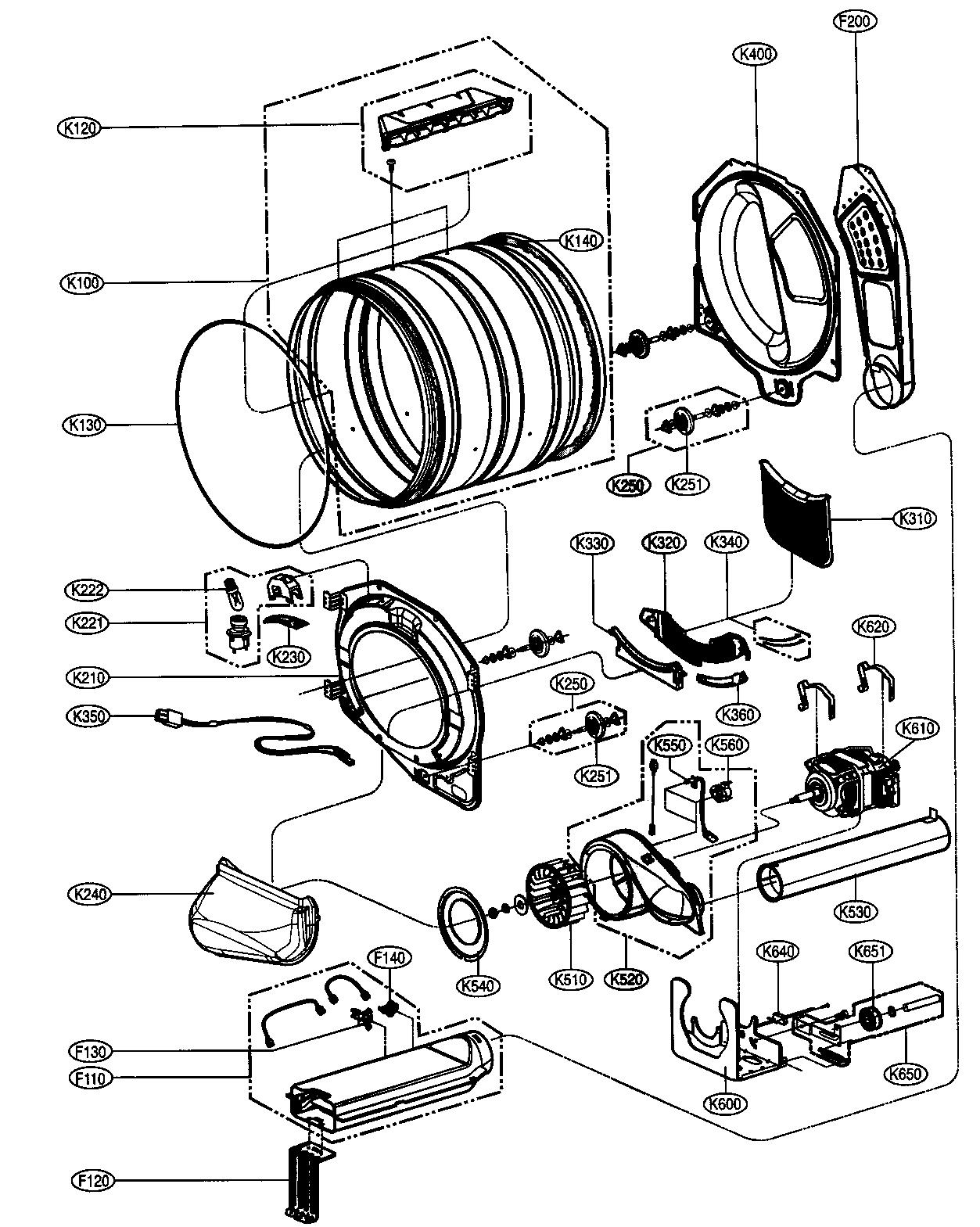 lg dryer schematics