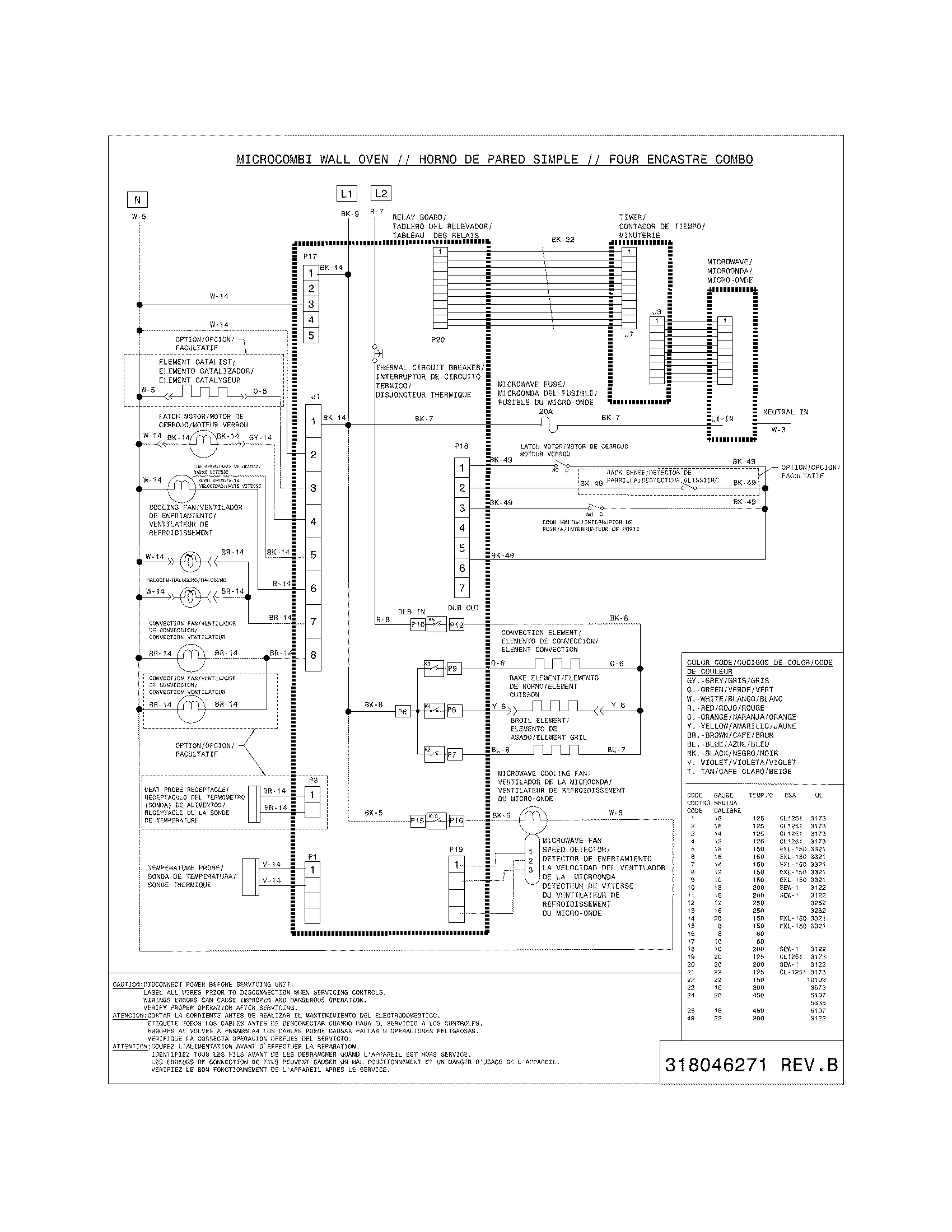 sears oven wiring diagram