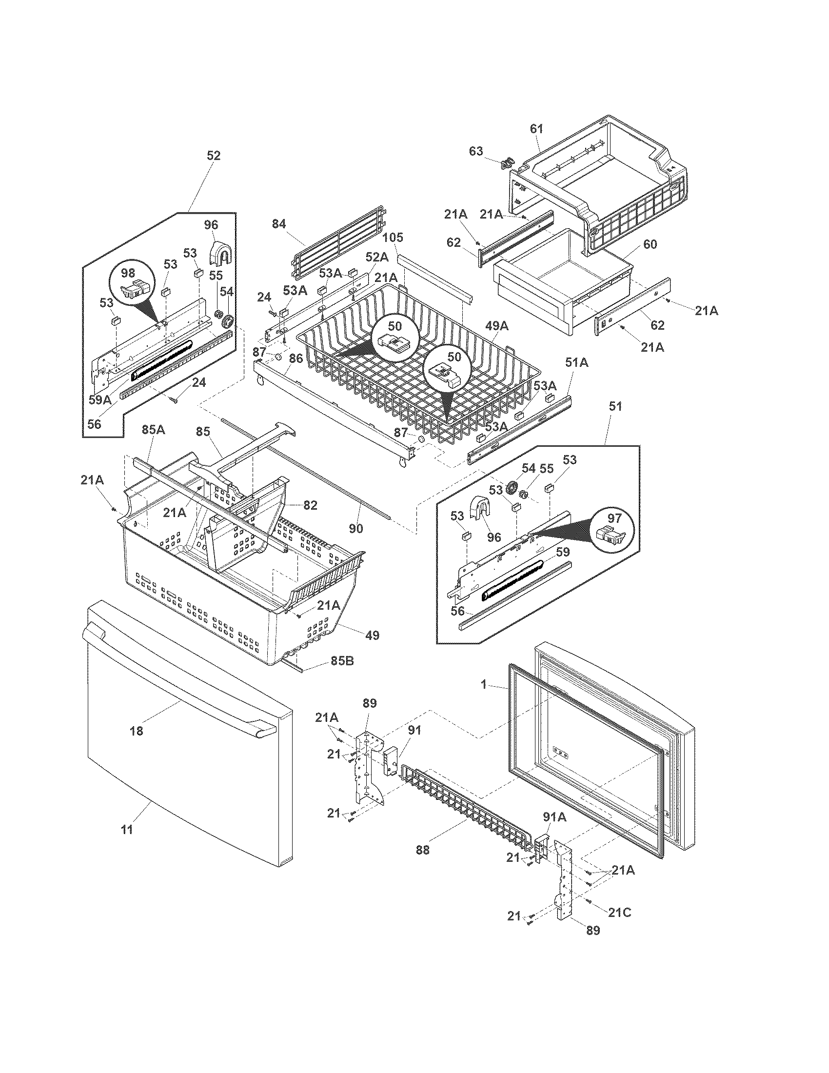 freezer system wiring diagram