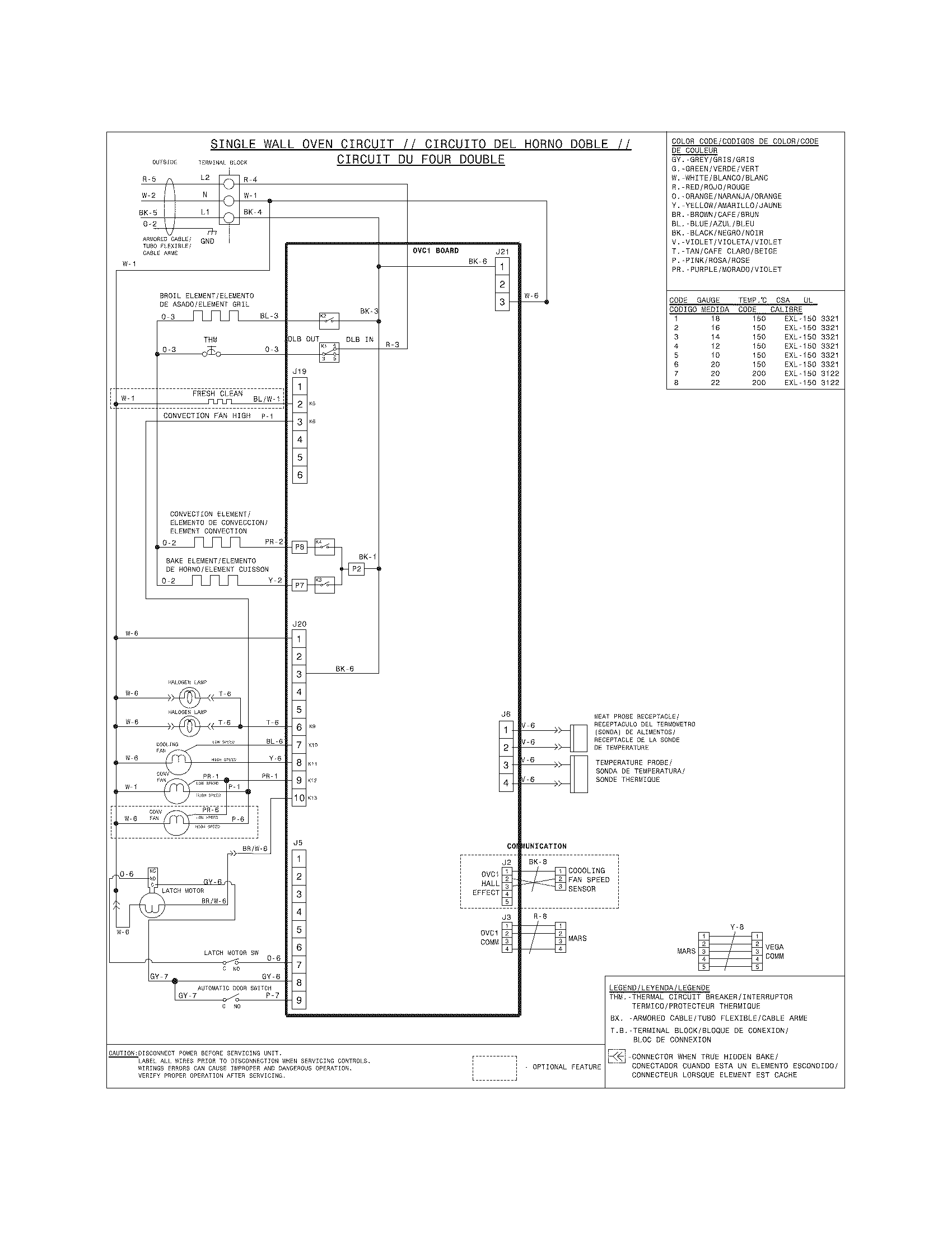 oven igniter wiring diagram