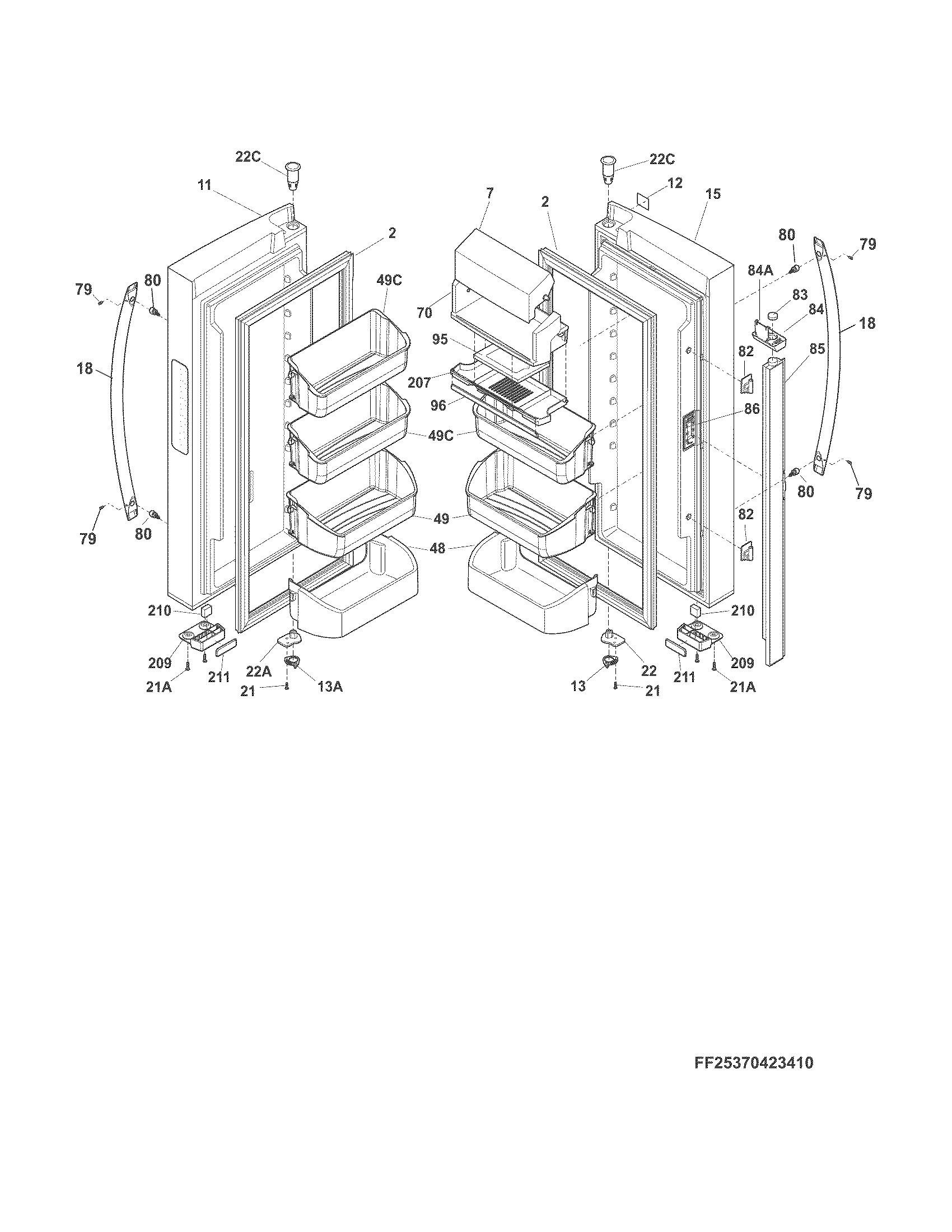 ef74 5as freezer wiring diagram