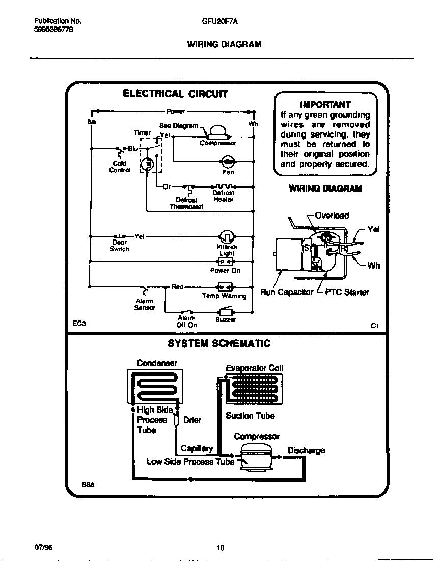gibson freezer wiring diagram