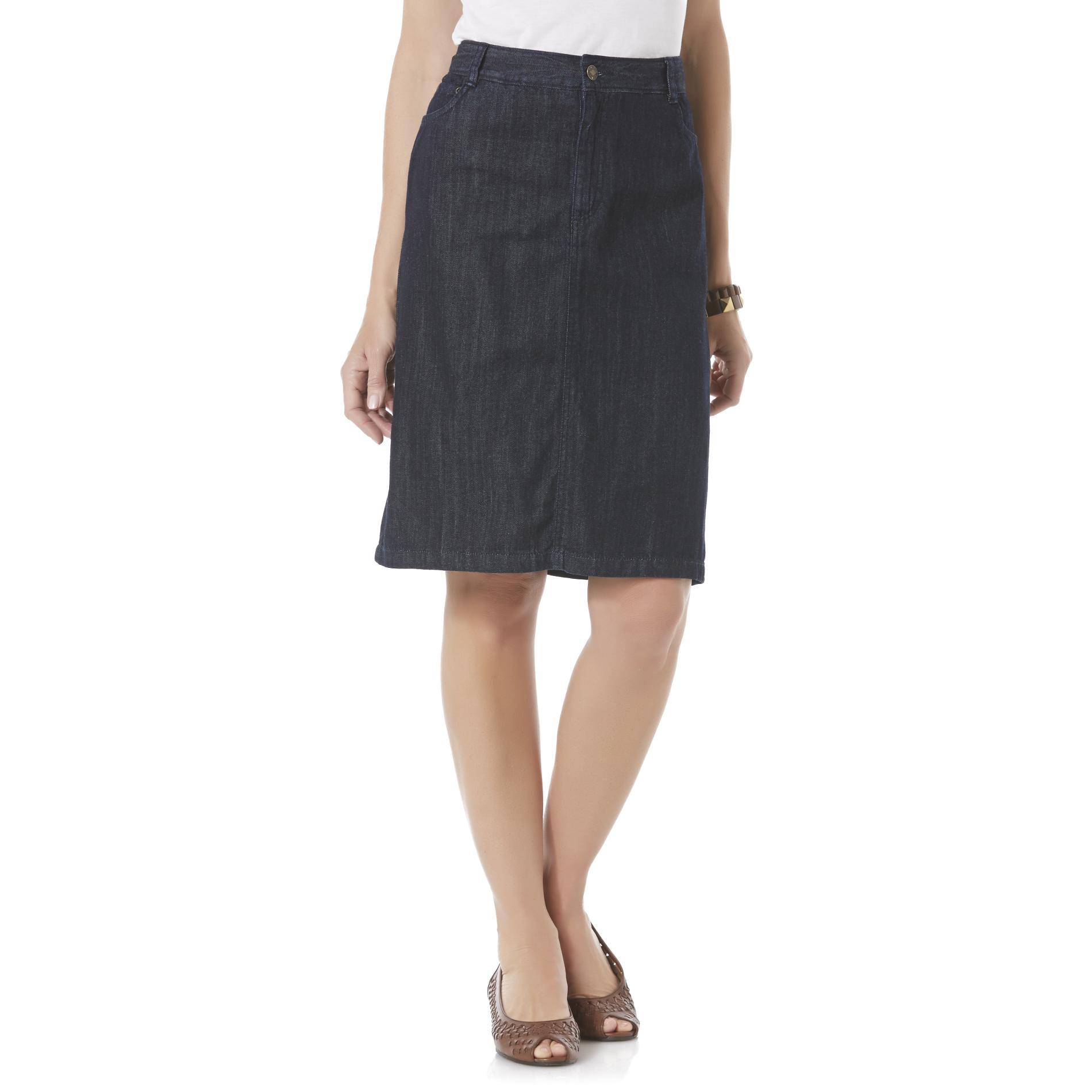 School Skirts Kmart Basic Editions Women 39s Denim Skirt