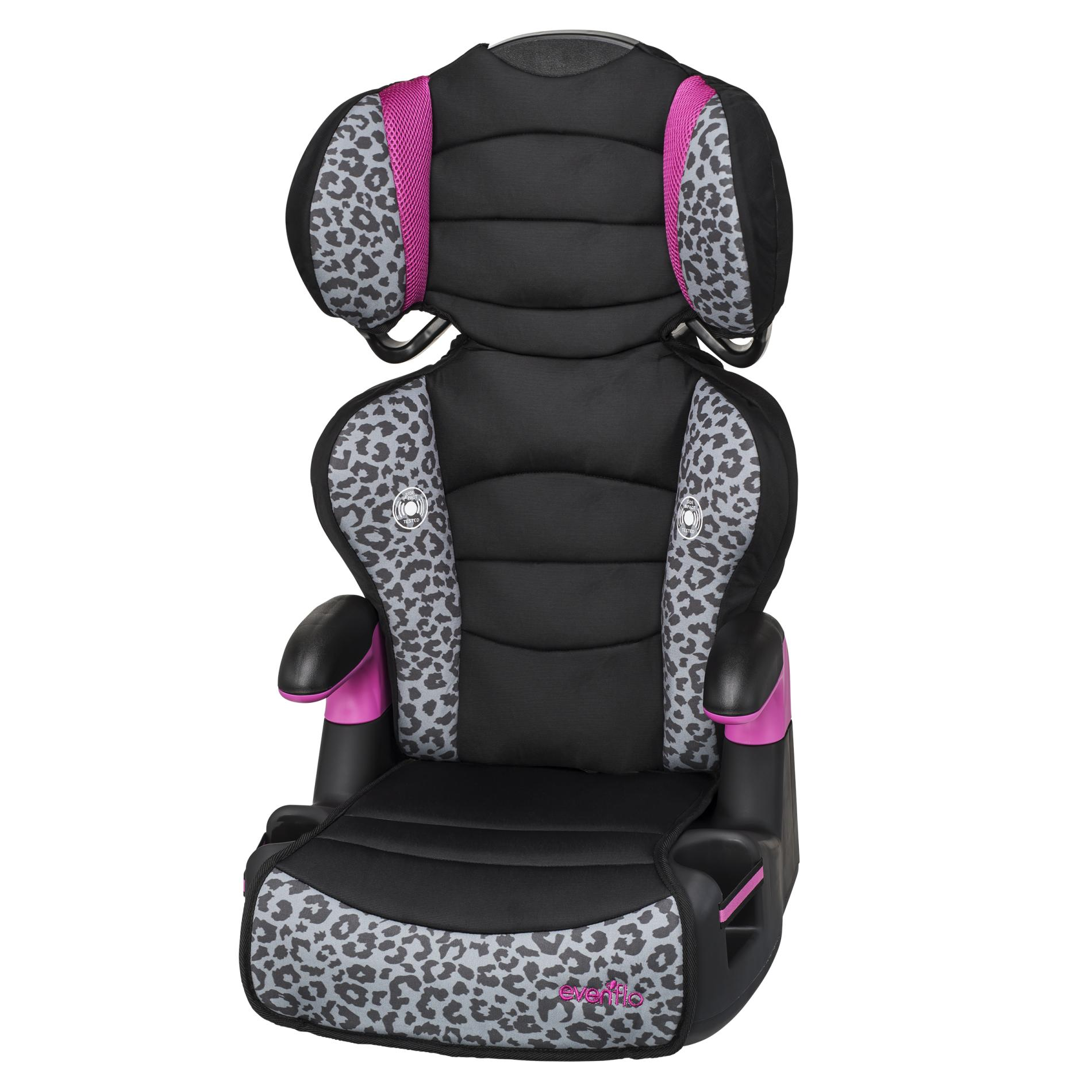 Baby Car Seat On Clearance Evenflo Convertible High Back Car Seat Leopard Print
