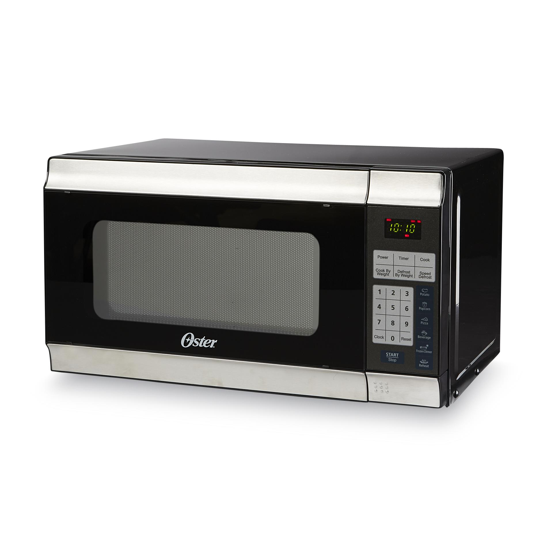 Oster 0.7 Cu Ft Countertop Microwave Oster Ogt6701 7 Cu Ft Countertop Microwave Stainless