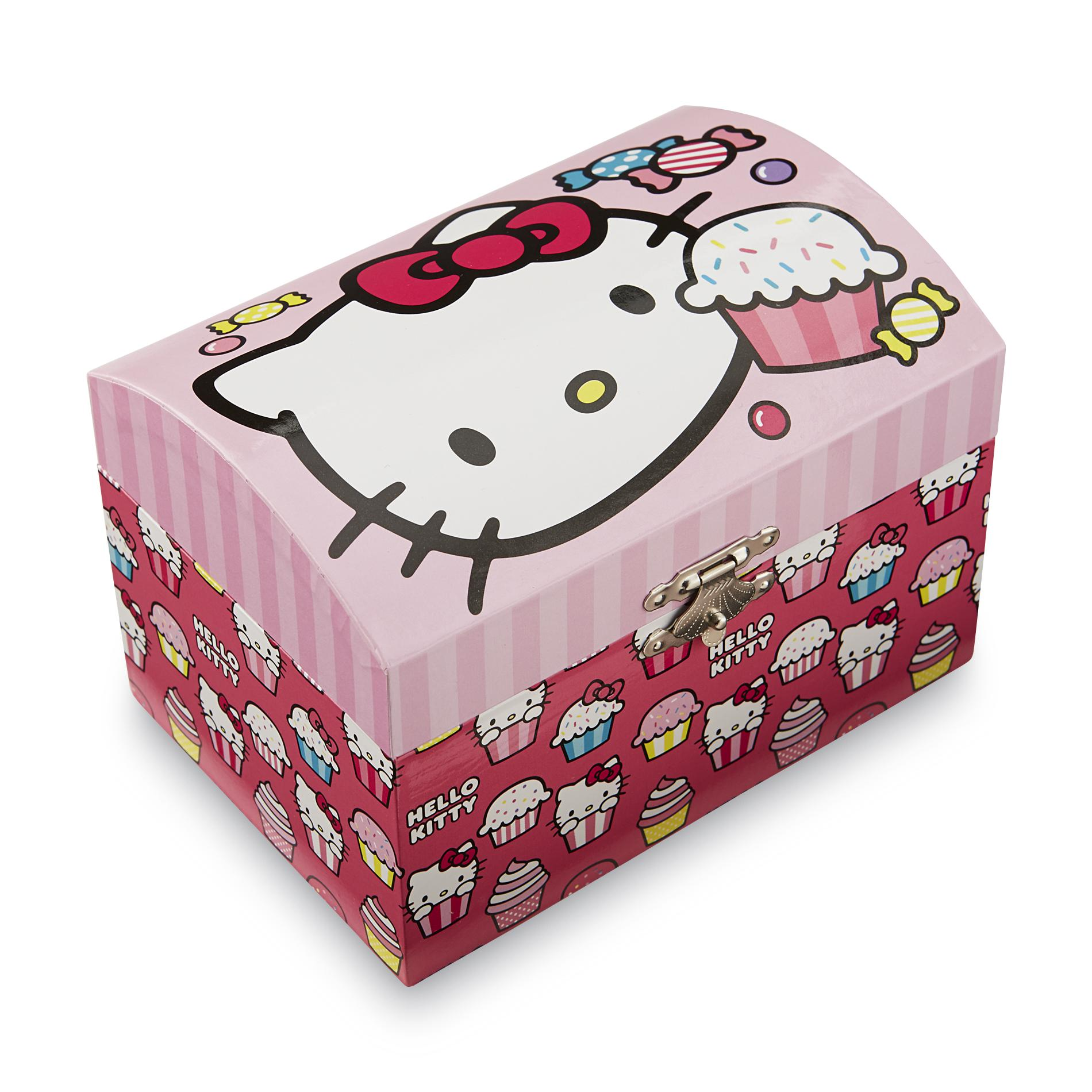 Cupcake Boxes Kmart Hello Kitty Girl 39s Musical Jewelry Box