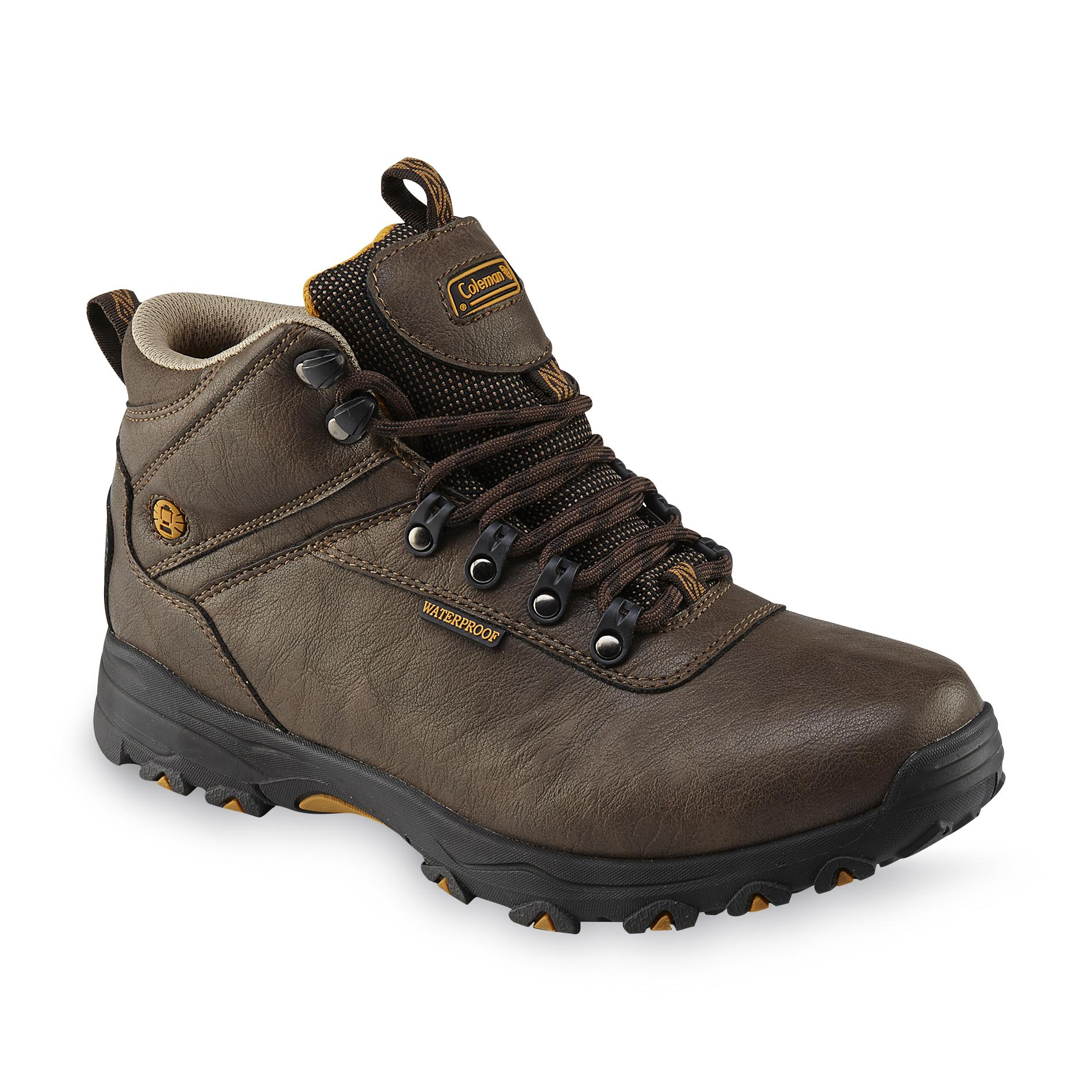 Coleman Men39s Kent Brown Waterproof Hiking Boot Shop