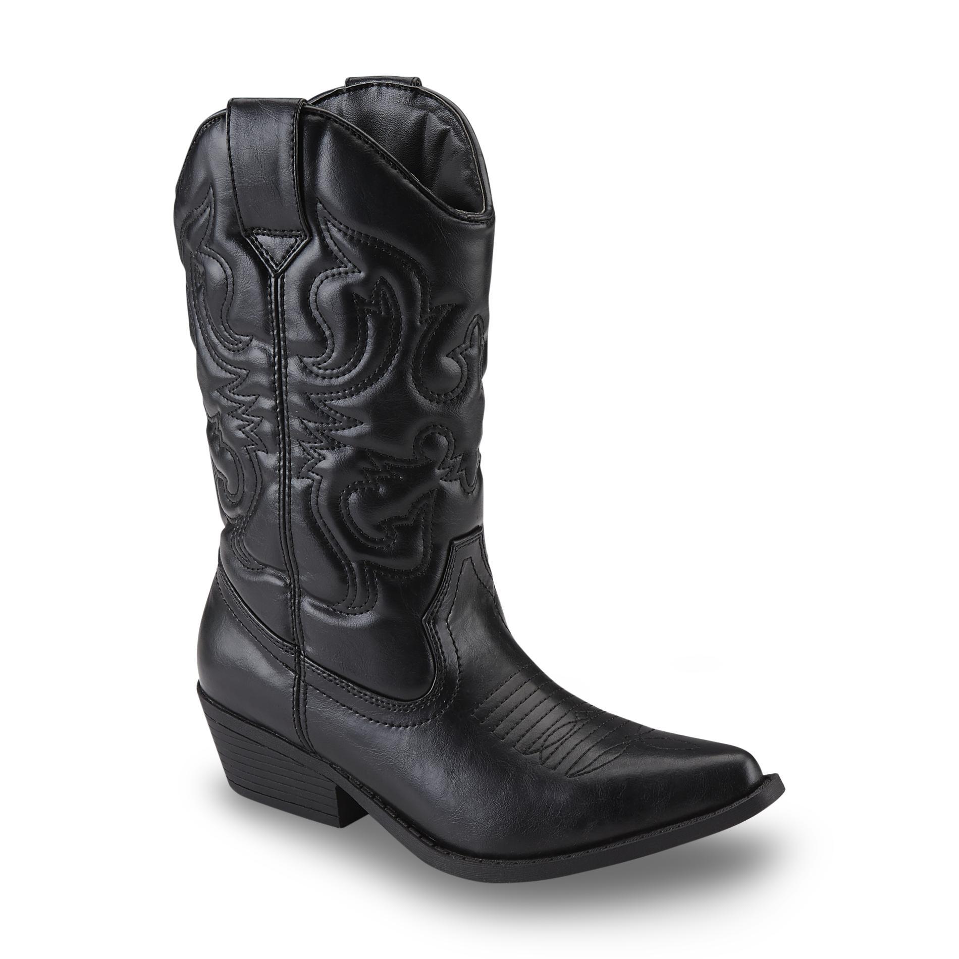 Sm New York Women39s Lasso Black Cowboy Boot Shop Your