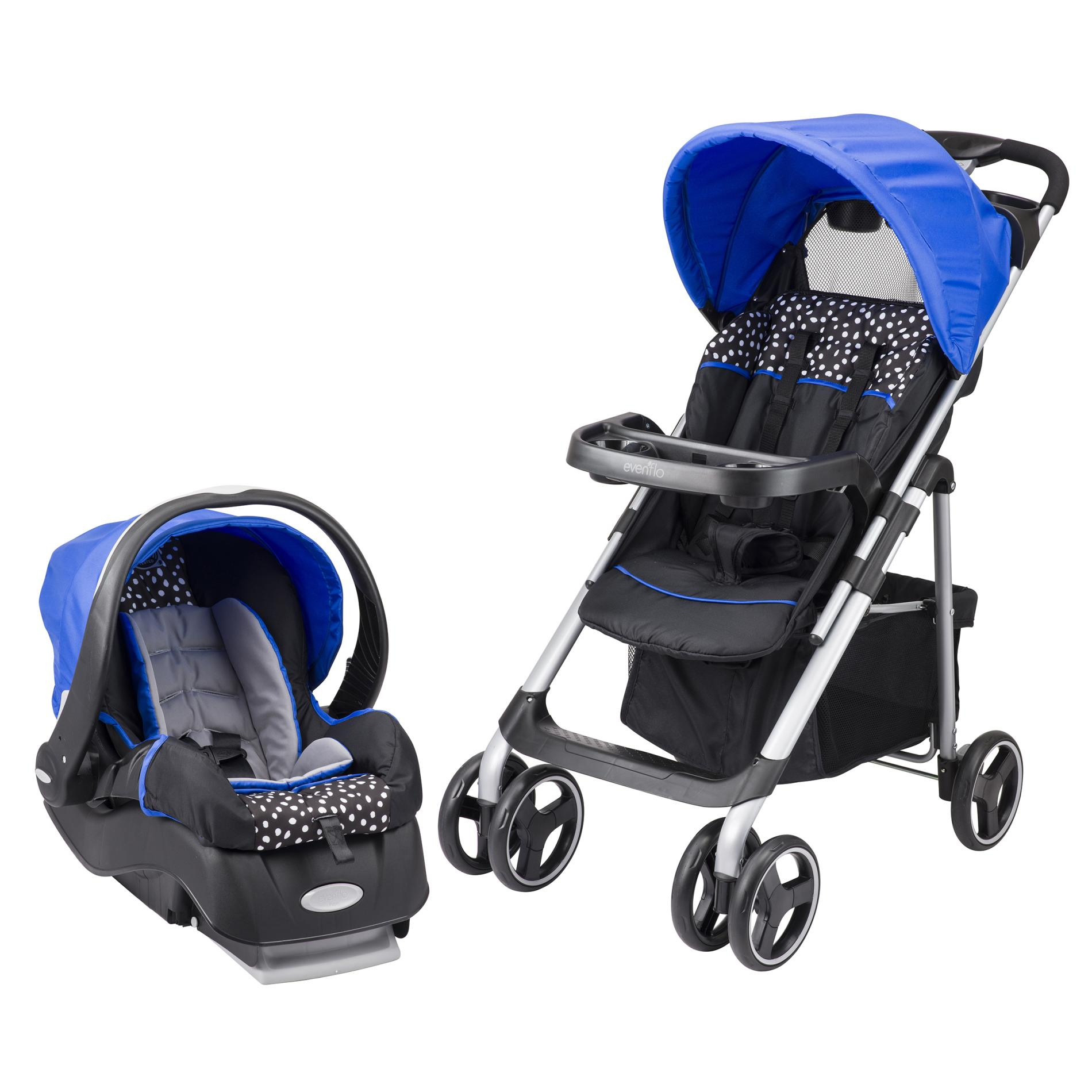 Stroller Accessories Graco Evenflo Vive Hayden Dots Infant Travel System
