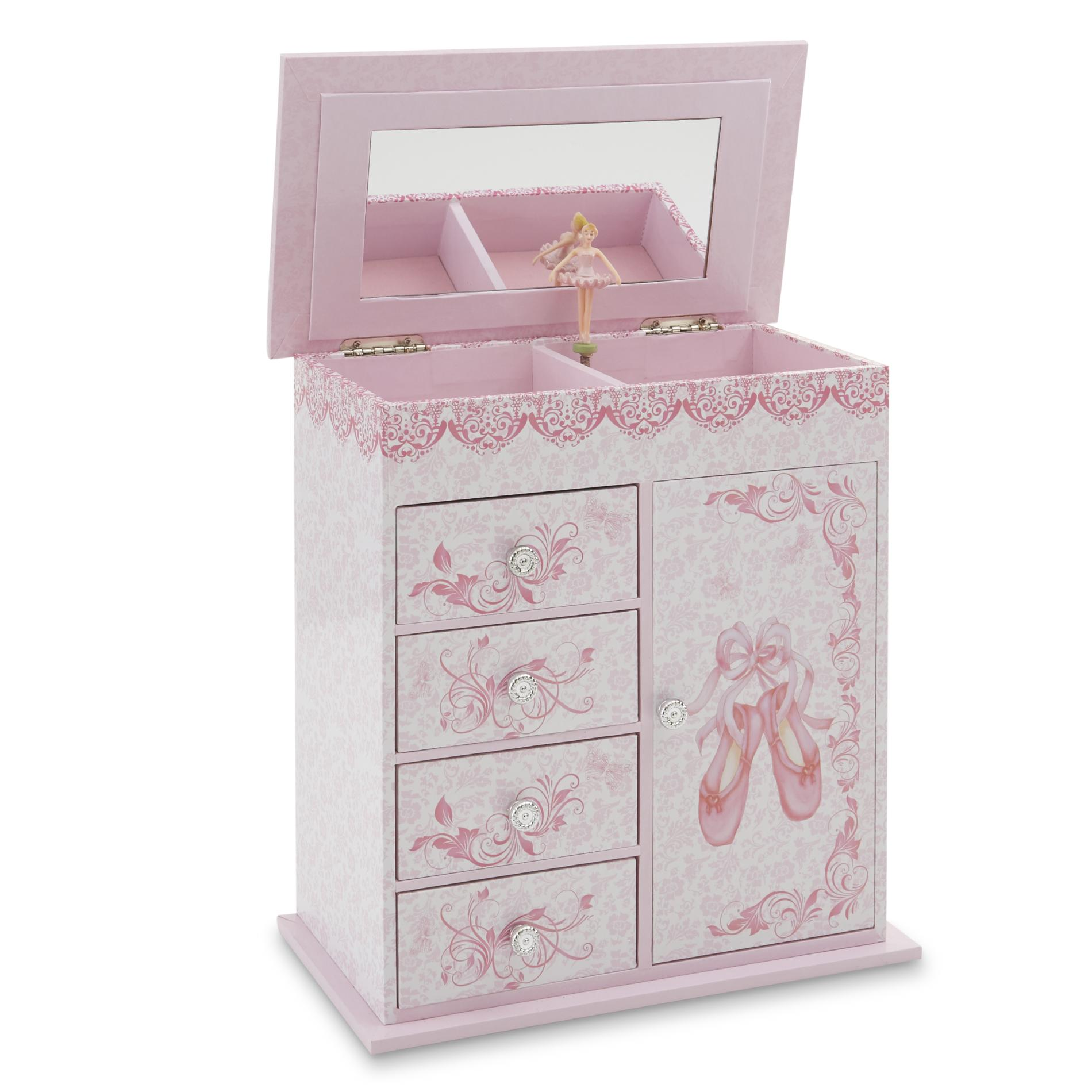Little Girl39s First Musical Ballet Slippers Jewelry Box