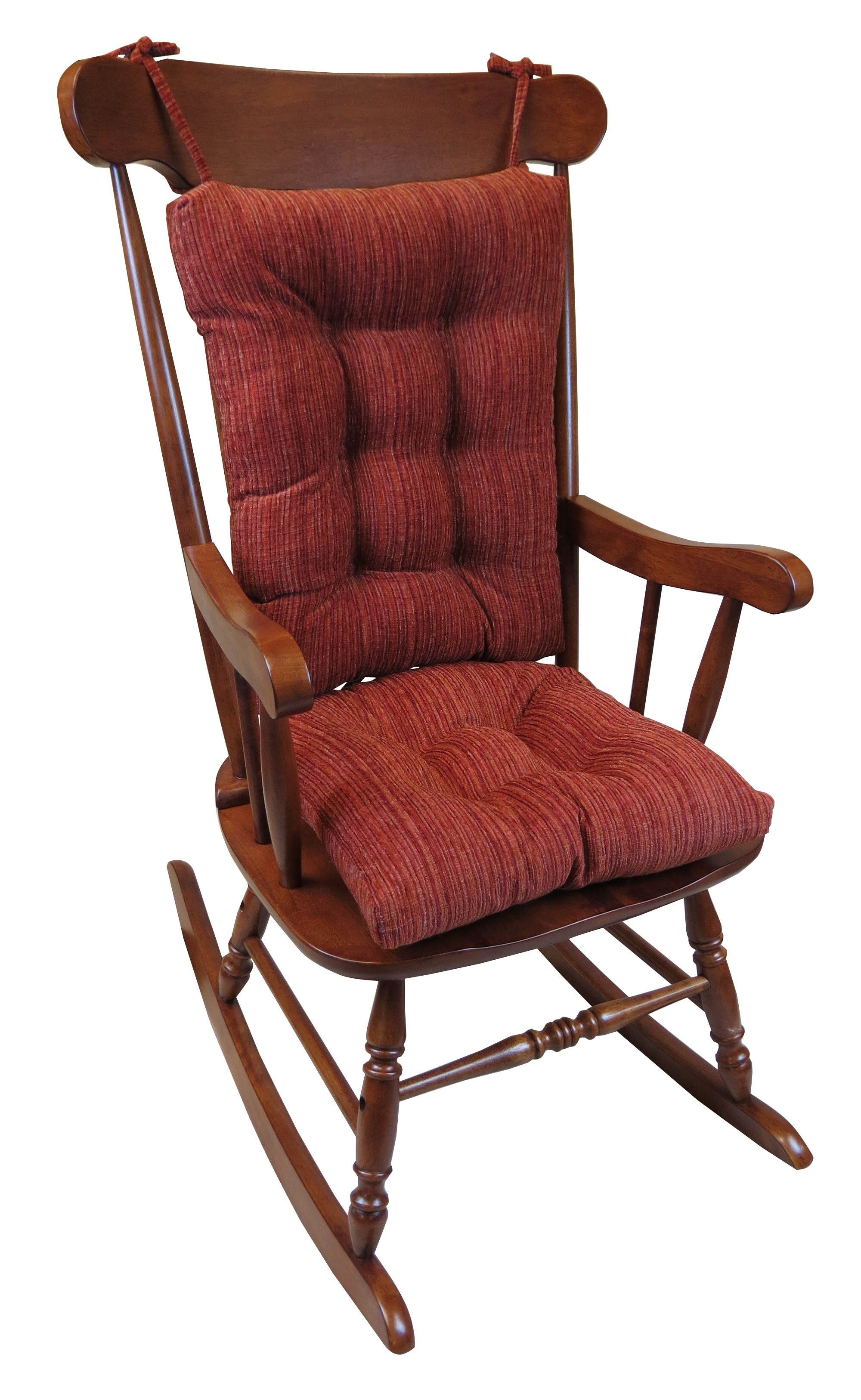 Rocking Chair With Cushions The Gripper Large Universal Rocking Chair Cushion Crushed