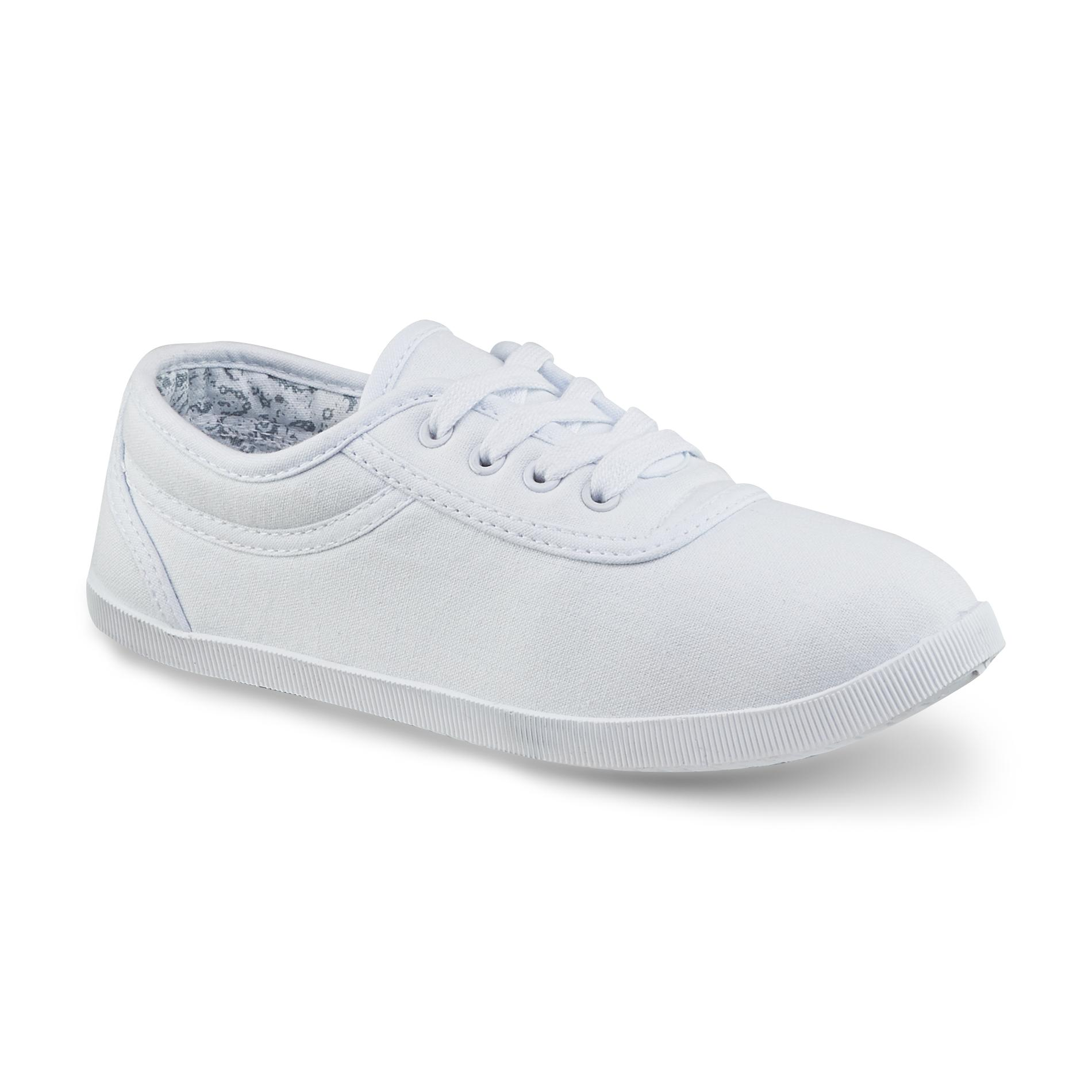 Kmart Canvas Printing Basic Editions Women S Eavan Canvas Oxford Shoe White