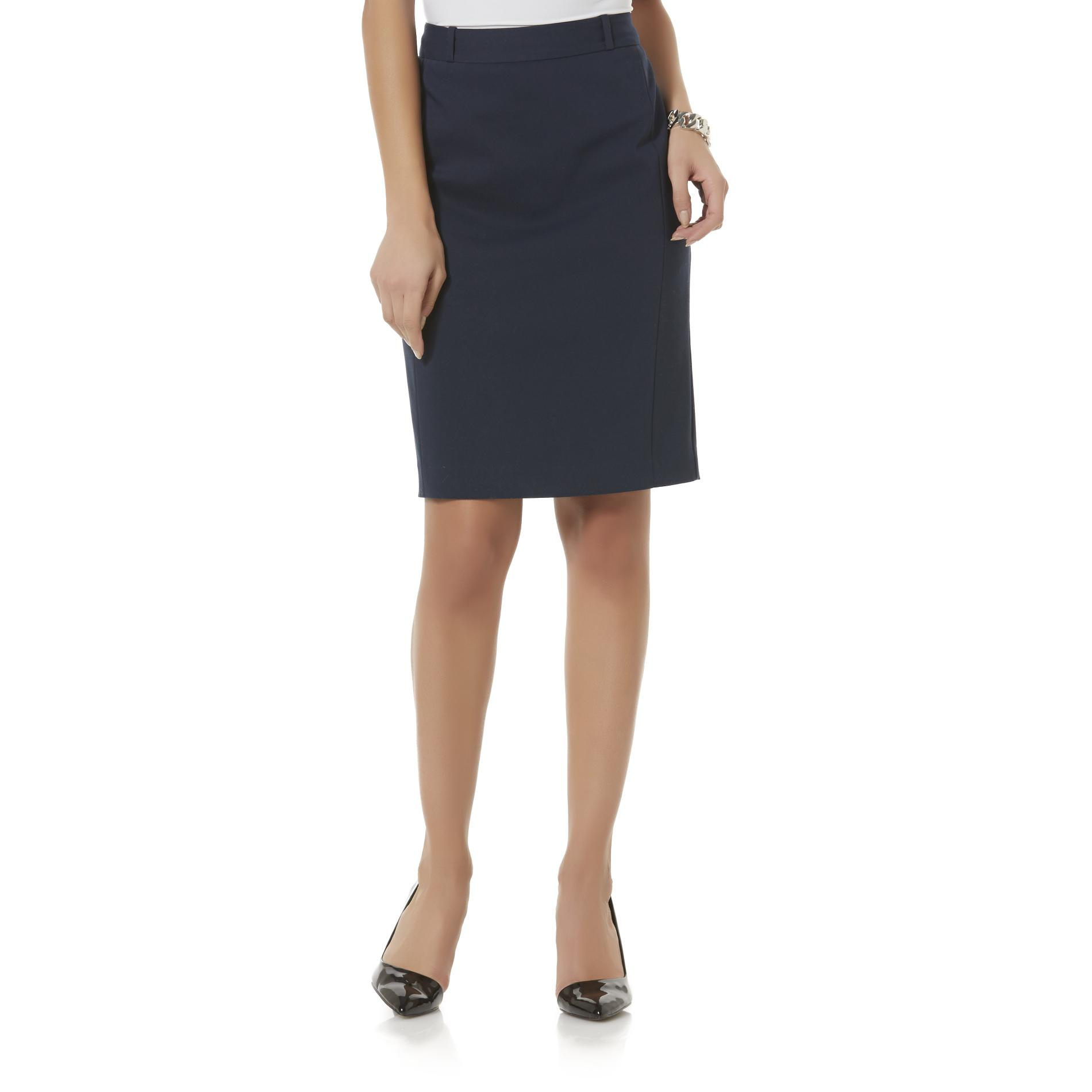 School Skirts Kmart Covington Women 39s Pencil Skirt Sears