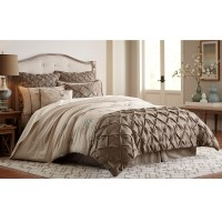 Essential Home Jacobean 8-Piece Comforter Set - Taupe