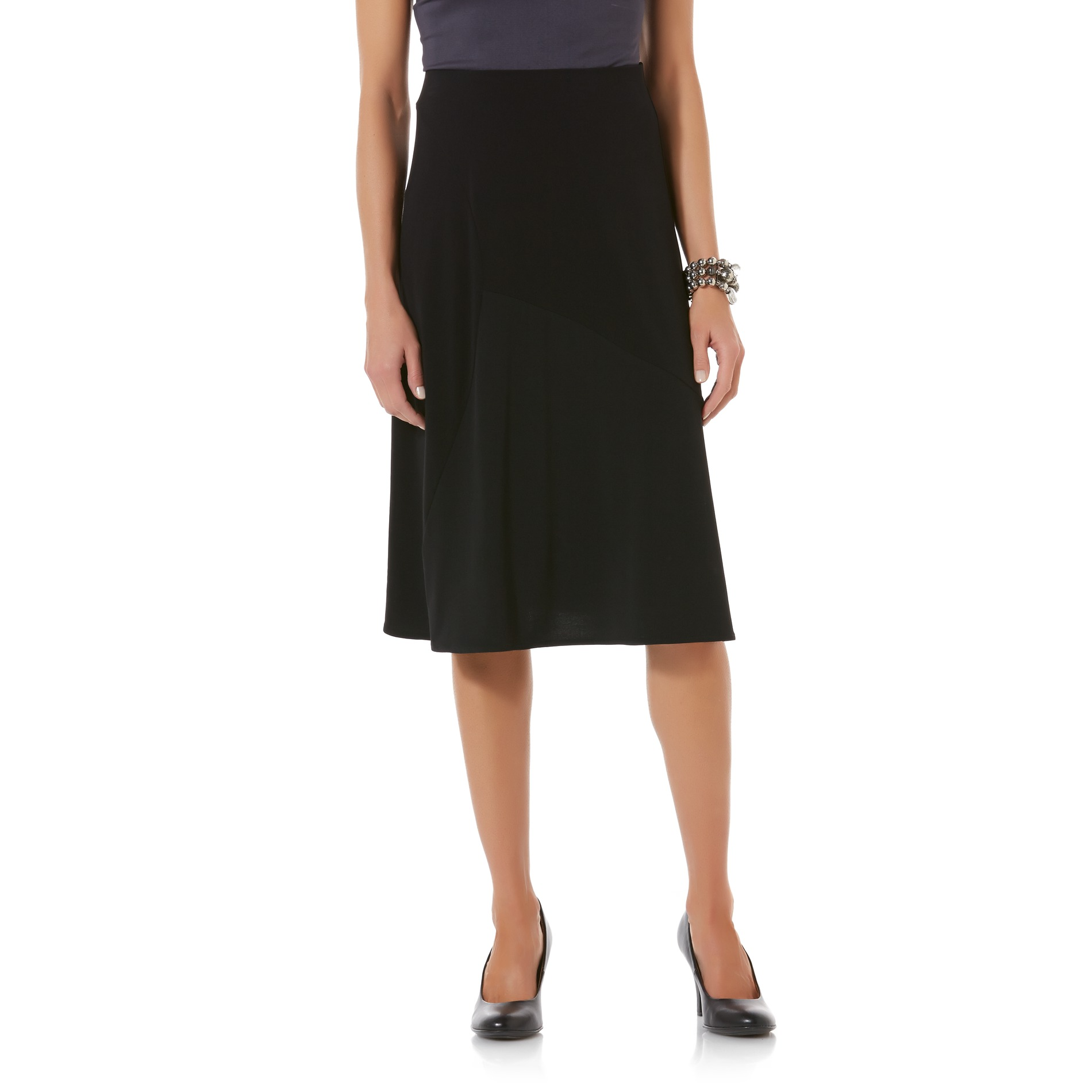 School Skirts Kmart Jaclyn Smith Women 39s Seamed A Line Midi Skirt Kmart