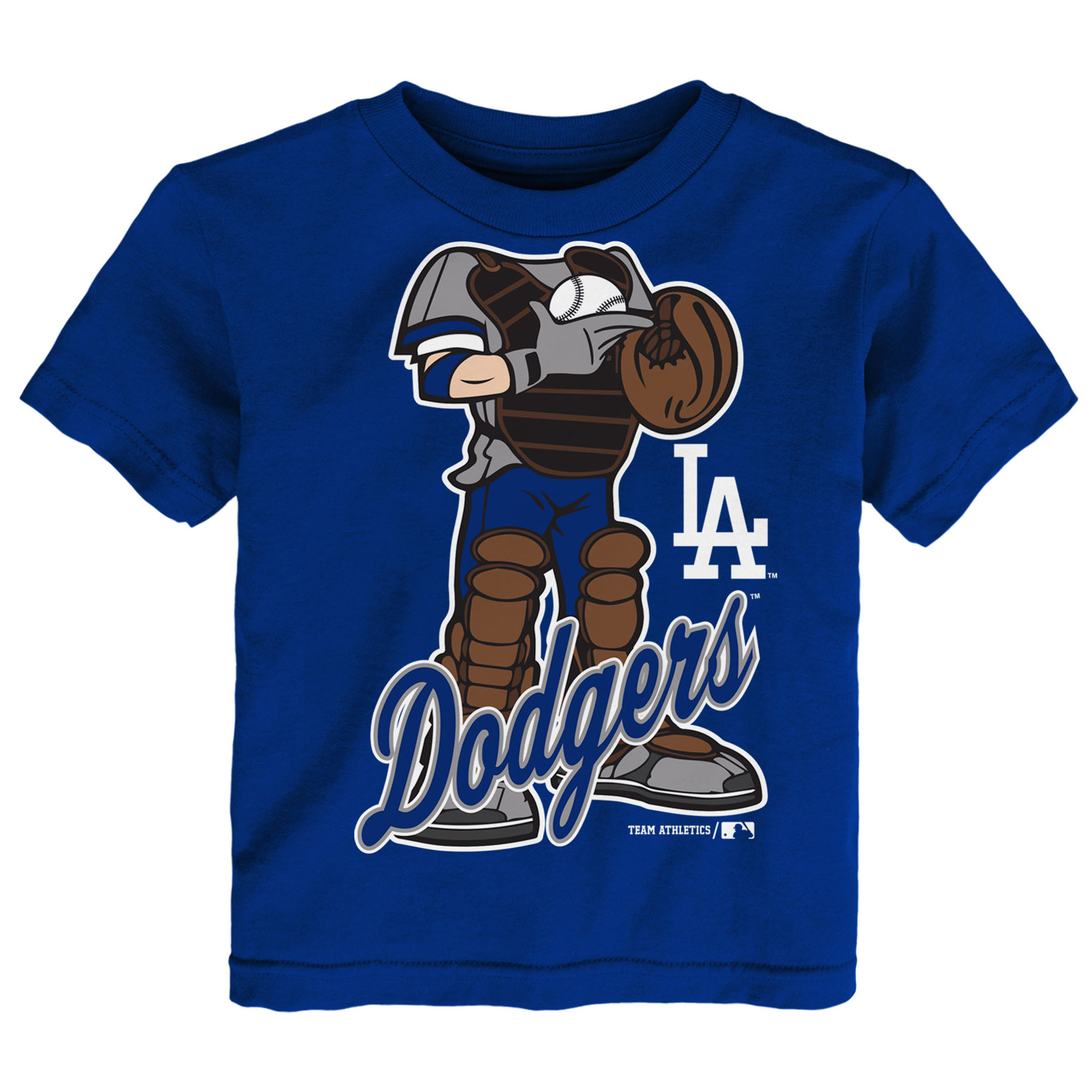 Baby Toddler Town Gift Registry Mlb Toddler Boys' T Shirt Los Angeles Dodgers