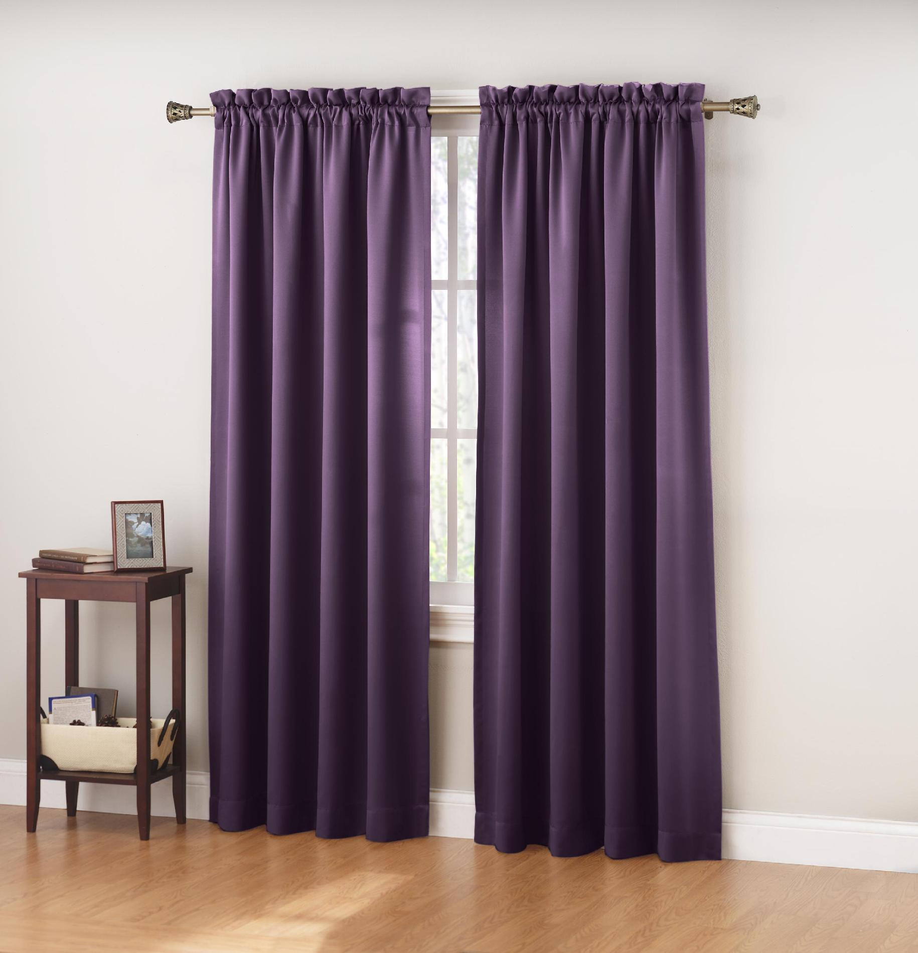 36 Inch Room Darkening Curtains Colormate Jillian Room Darkening Window Curtain Panel