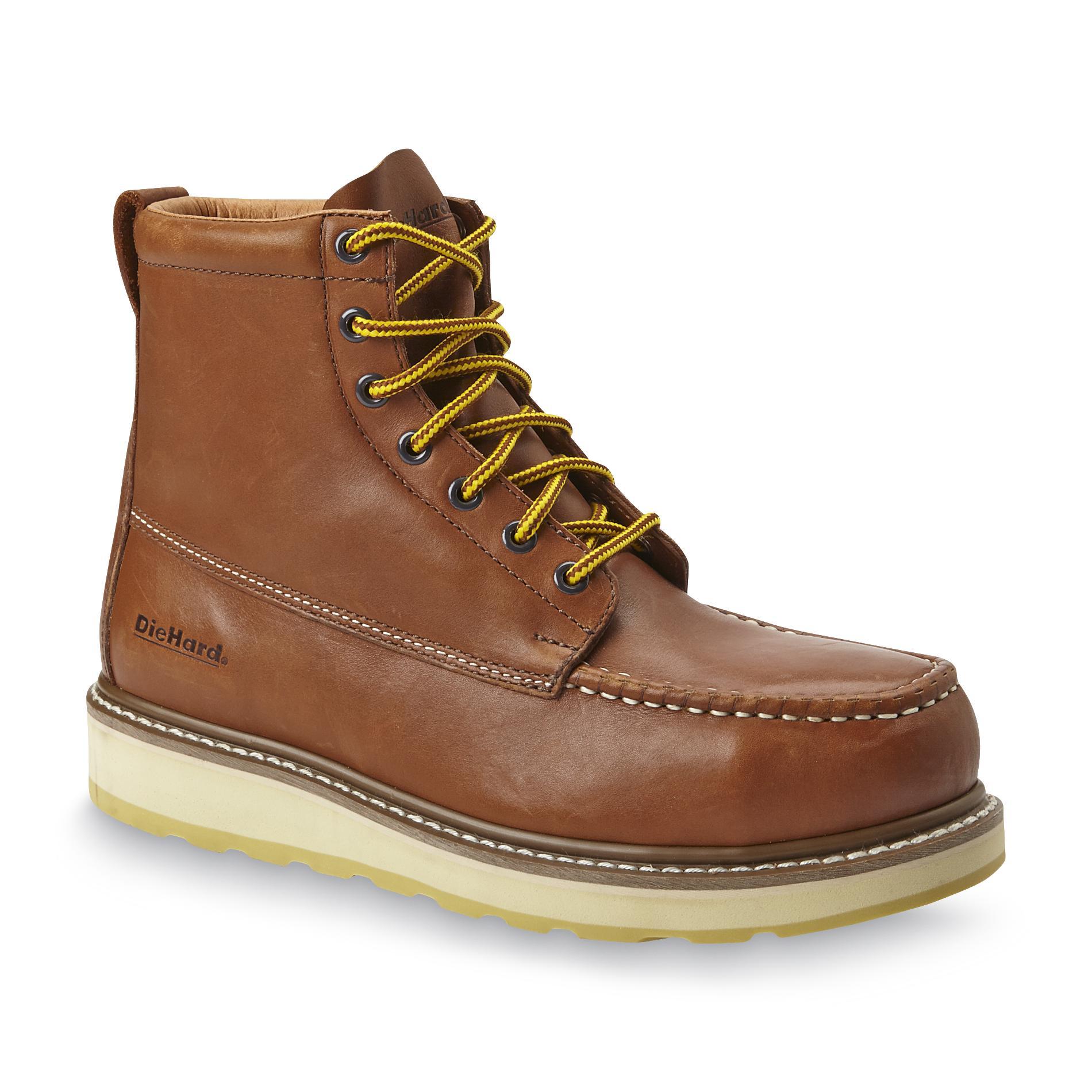 Diehard Men39s Suretrack 6quot Steel Toe Work Boot Brown