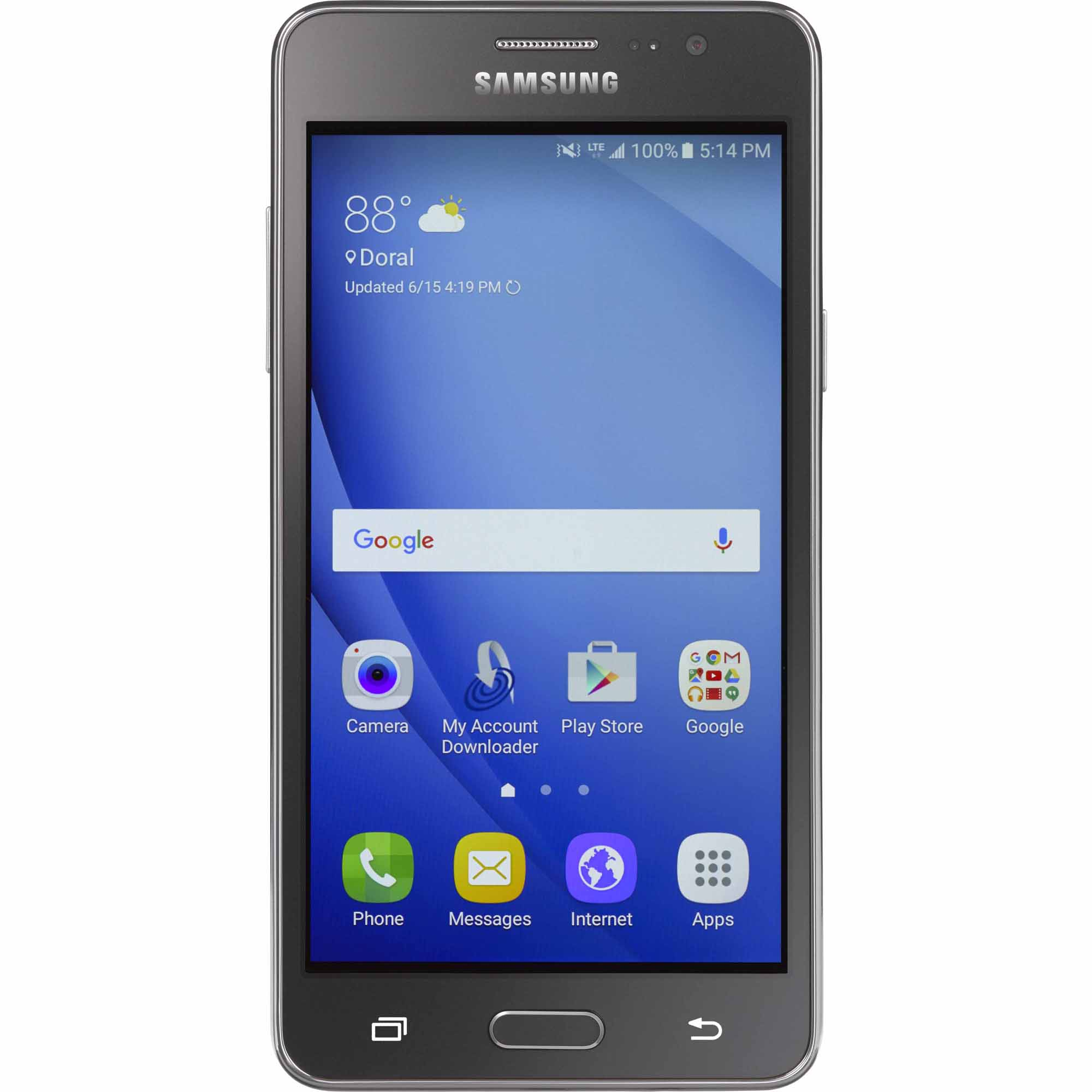 Solde Smartphone Samsung Simple Mobile Samsung Galaxy On5 Prepaid Smartphone Shop