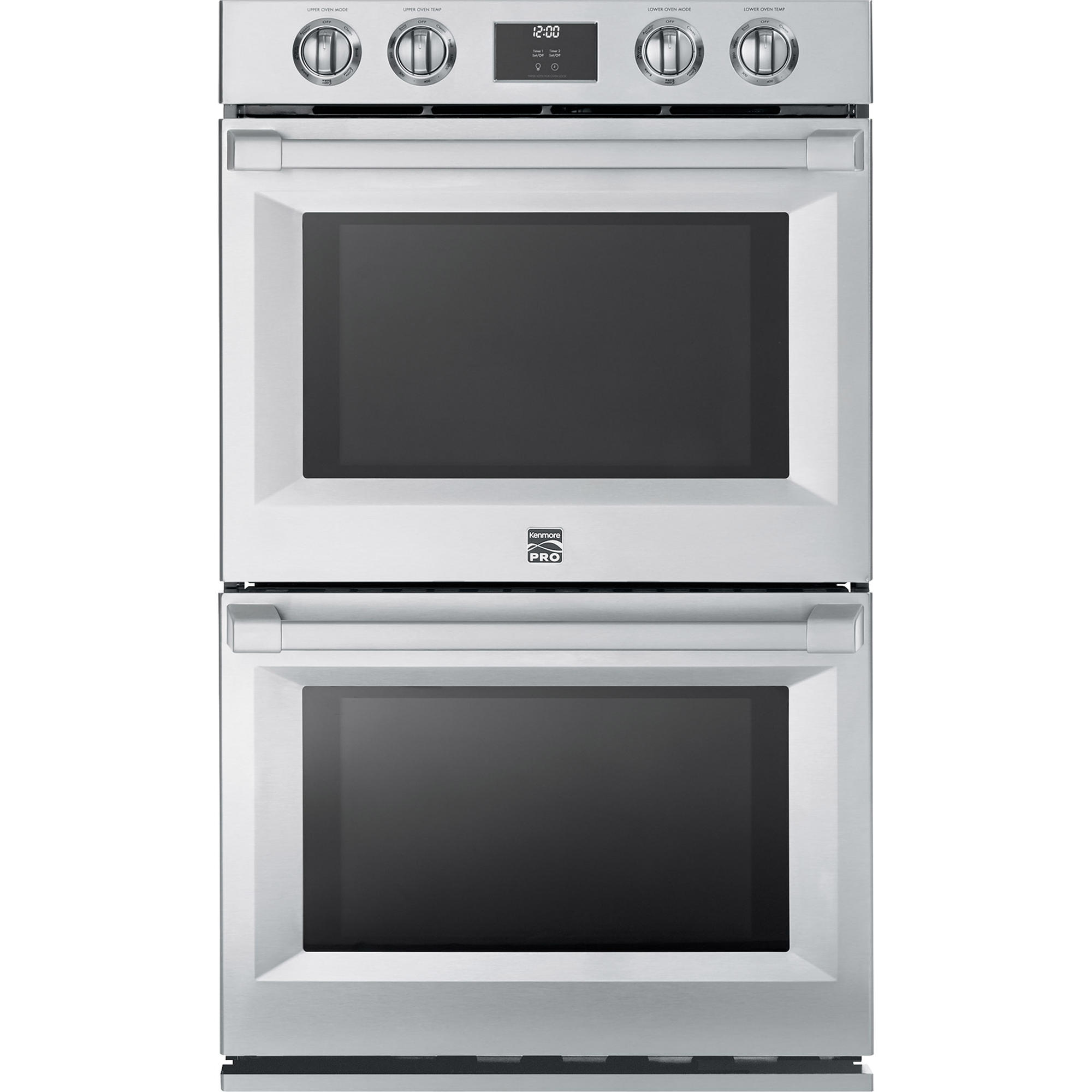 30 Wall Ovens Check Out Kenmore Pro 41143 30 Electric Double Wall Oven Stainless Steel Shopyourway