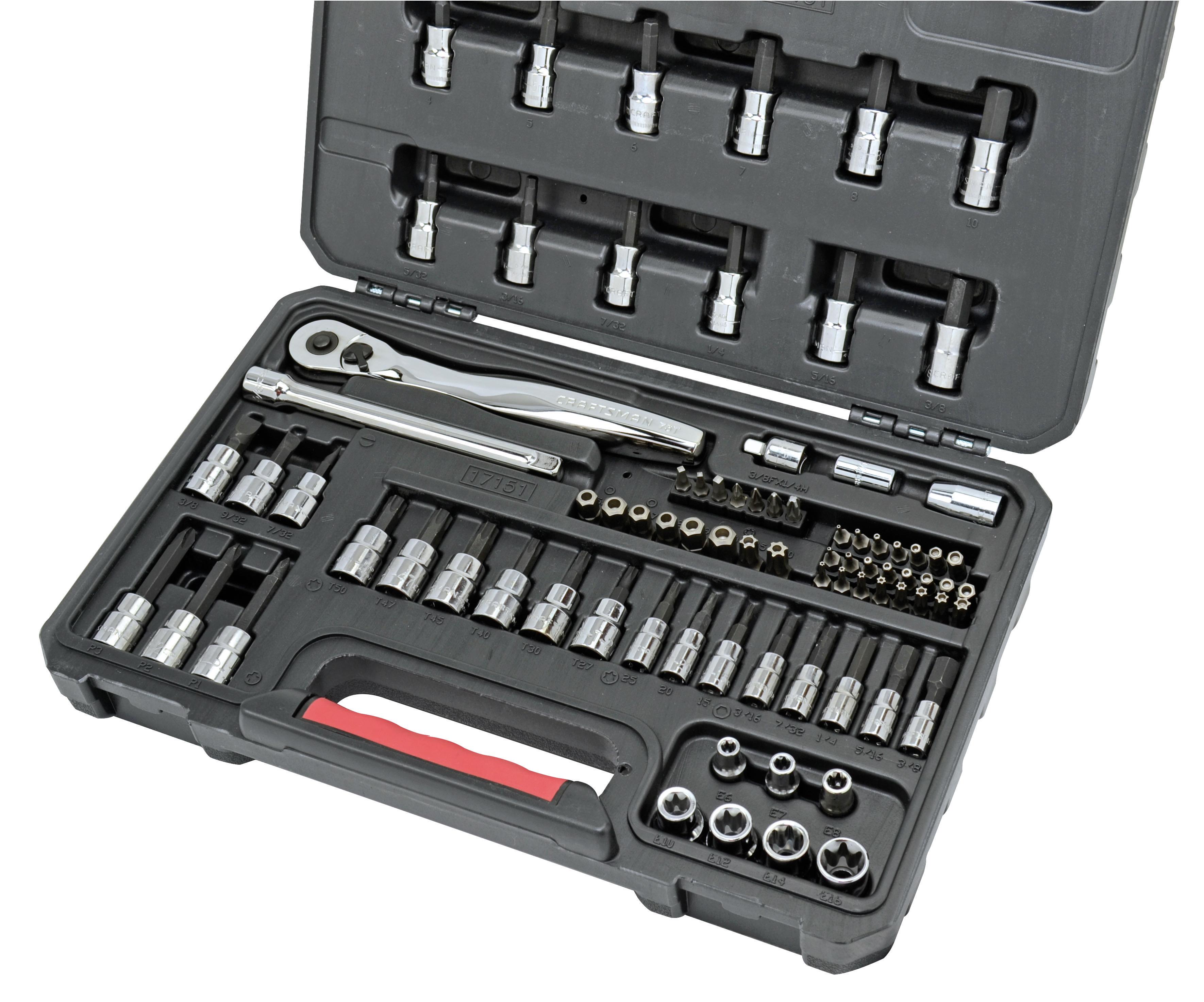Craftsman 82 Pc Socket Bit Set