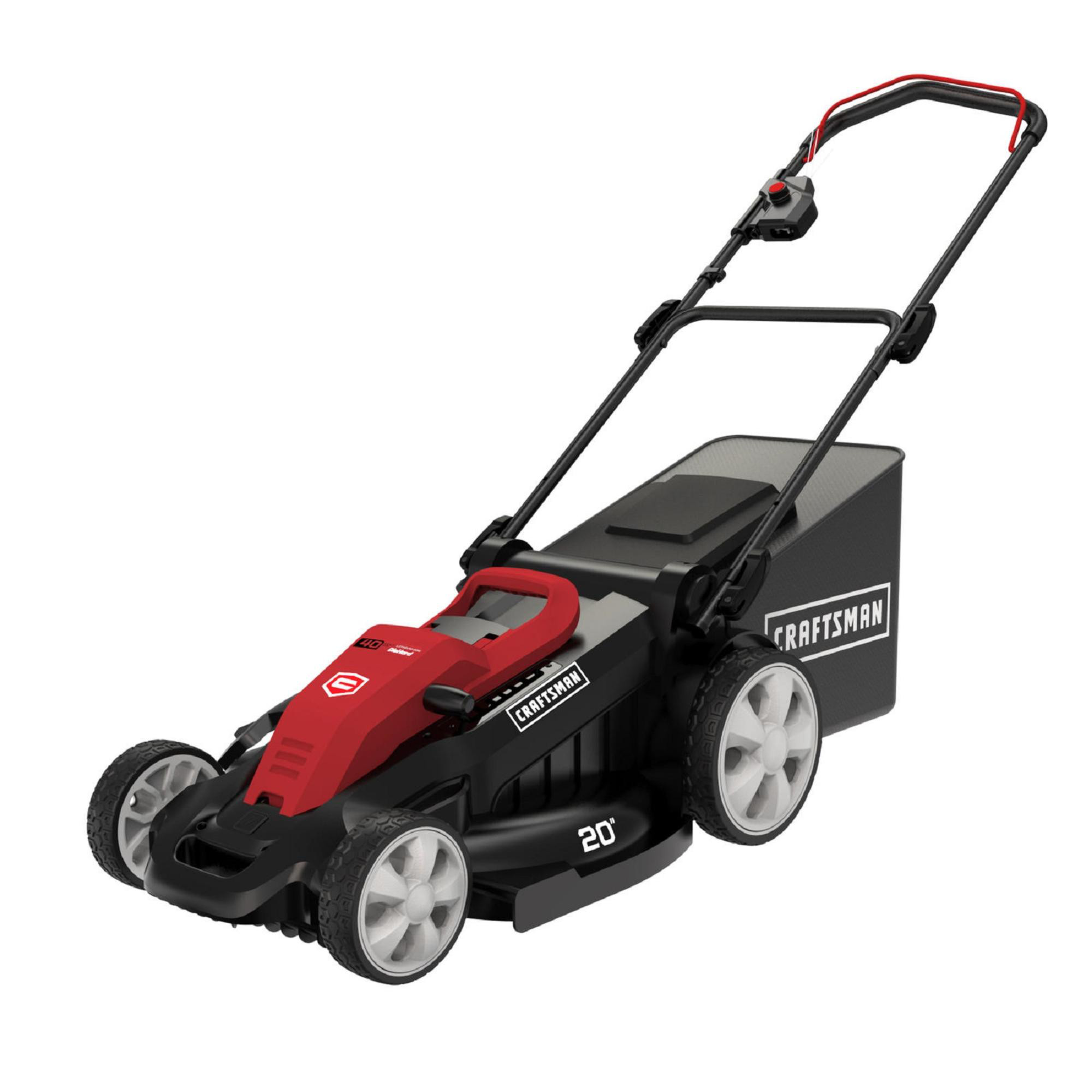 Lawn Mower Craftsman 40v Electric Mower Lawn And Garden Lawn Mowers