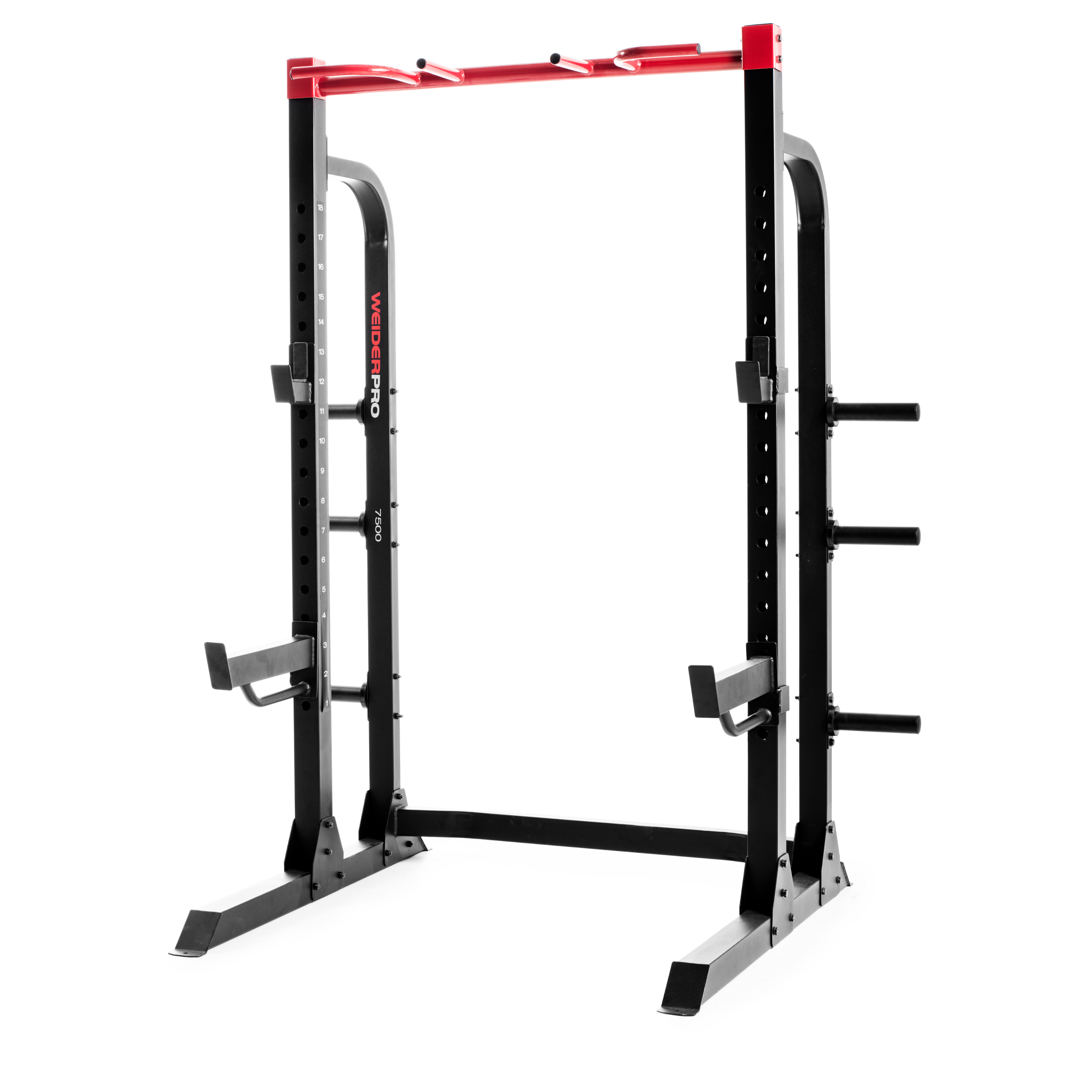Garage Gym Half Rack Weider Pro 7500 Power Half Rack