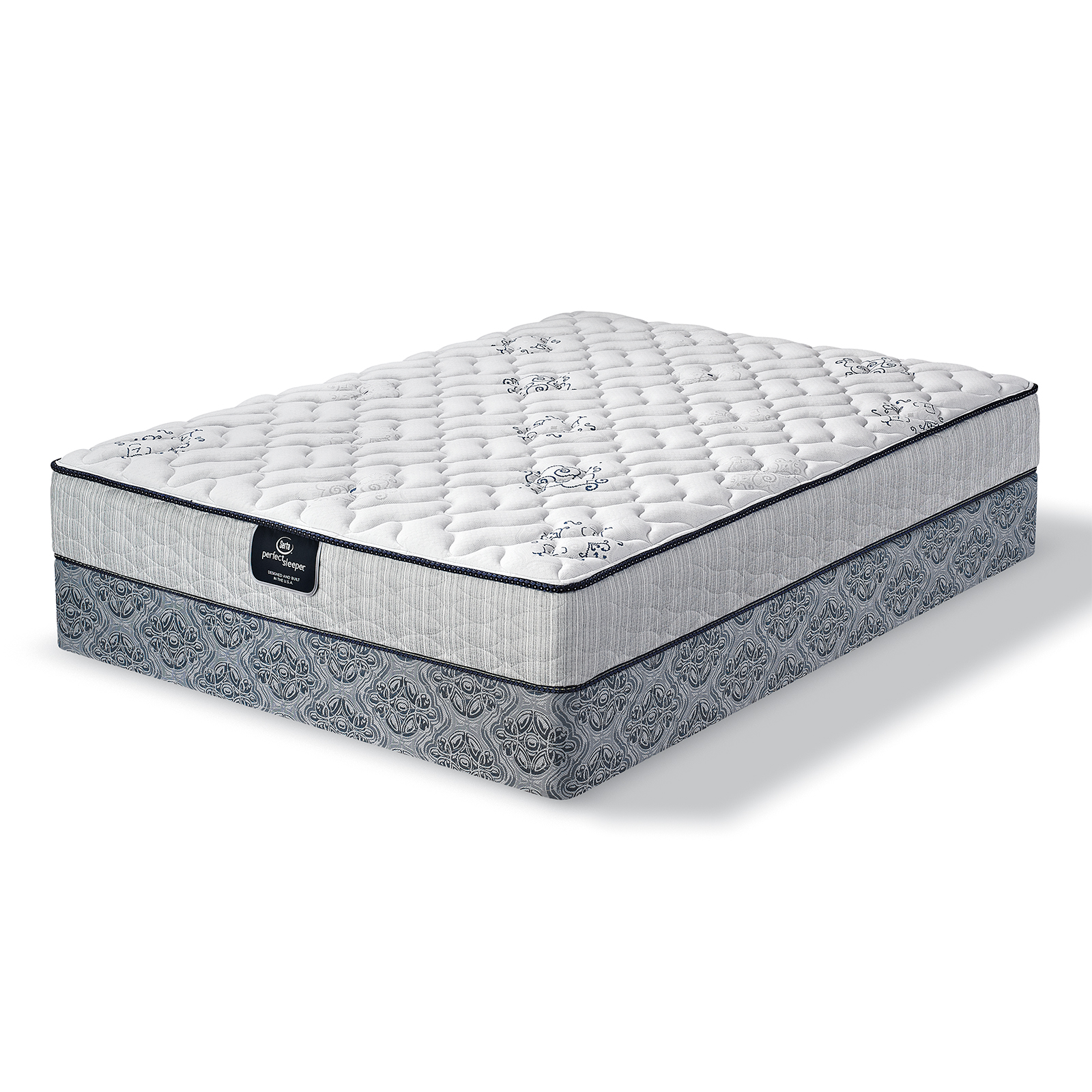 Serta Hessel Ridge Firm Queen Mattress Only
