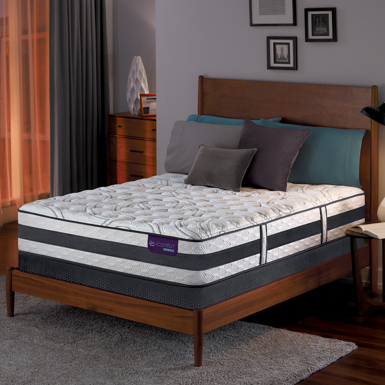 Serta Hybrid Recognition Extra Firm Queen Mattress