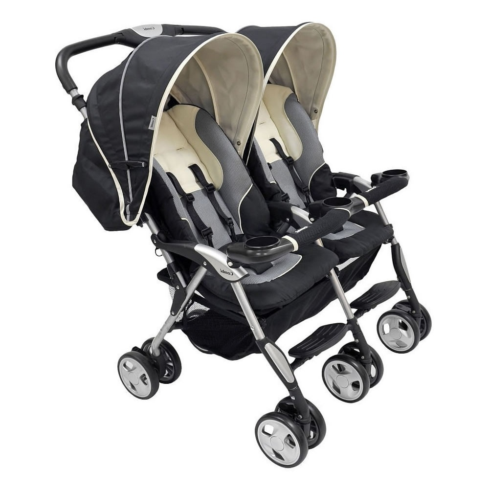 Combi Double Stroller Side By Side Combi Industries Inc Upc Barcode Upcitemdb