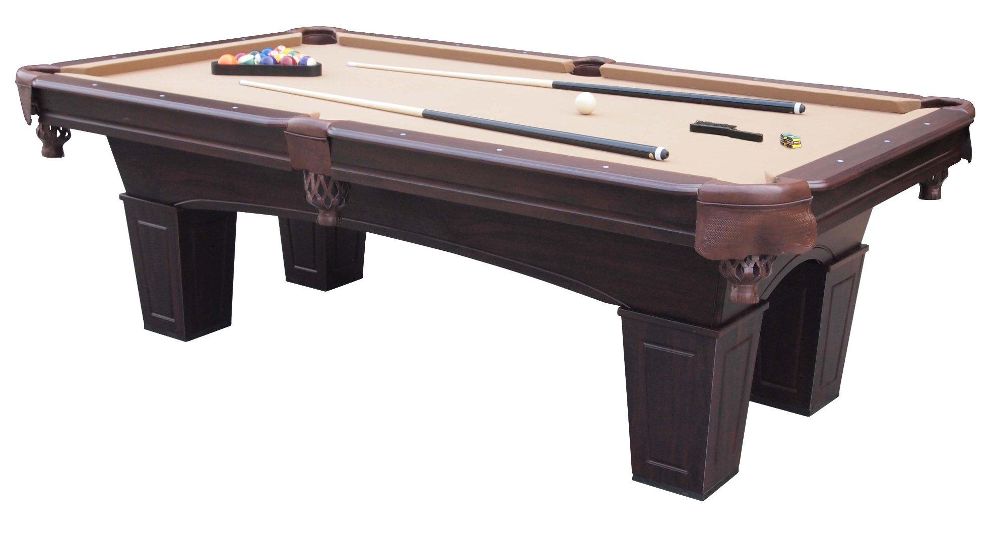 Md sports 8 8217 crestmont billiard table
