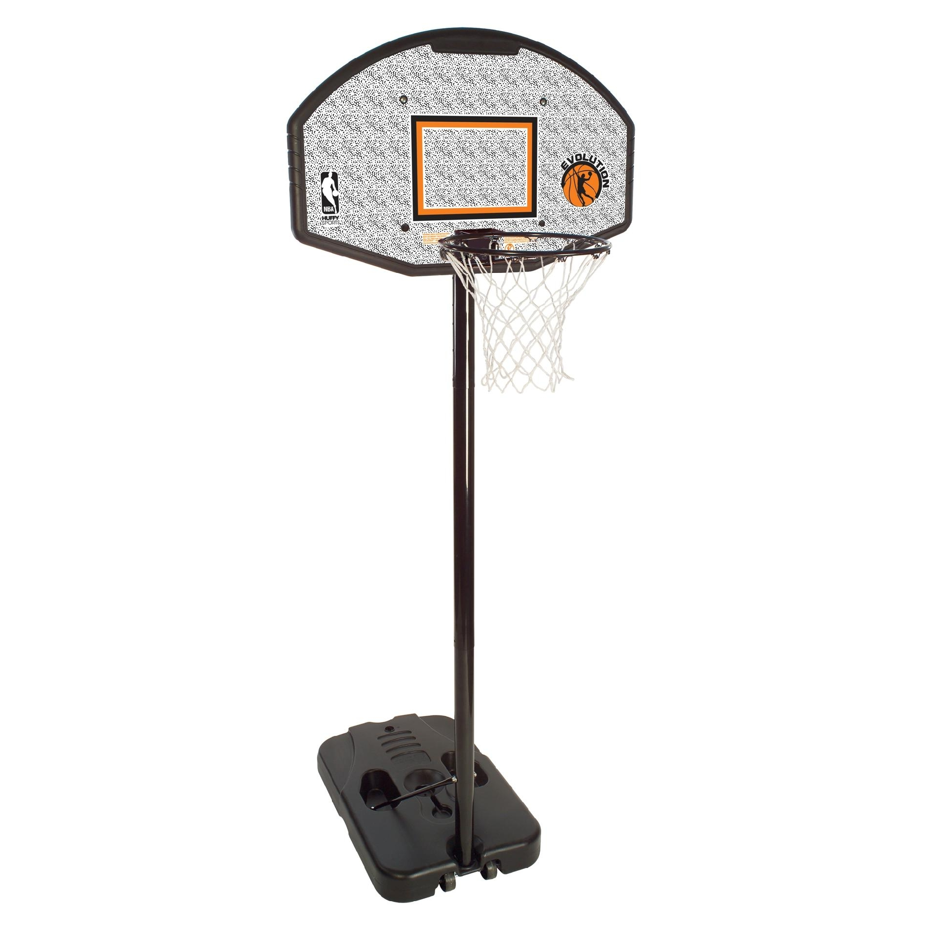 Basketball Ring Target Huffy Nba Eco Composite 44 Inch Portable Basketball System