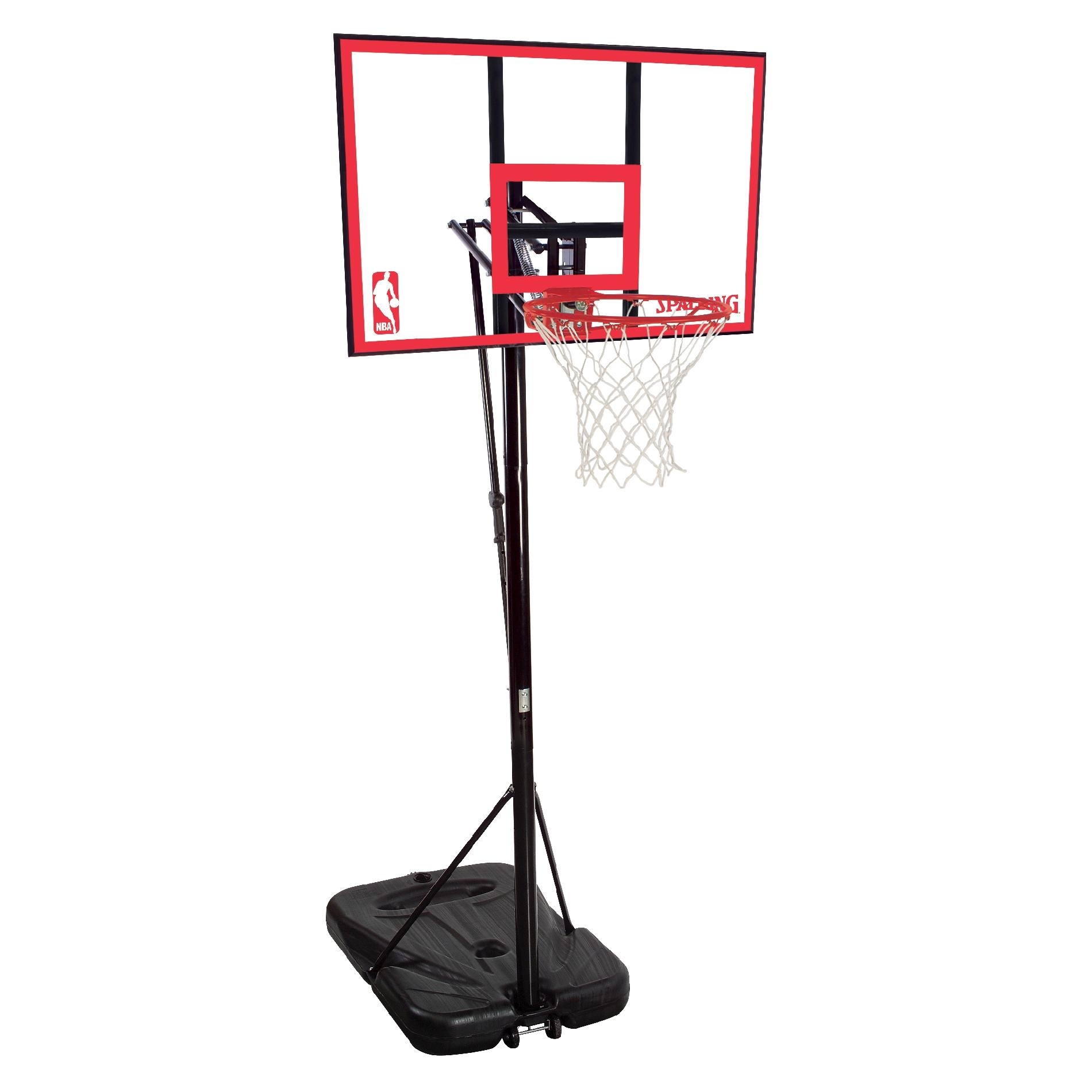 Basketball Ring Target Spalding Nba 44 Inch Pro Glide Portable Basketball System