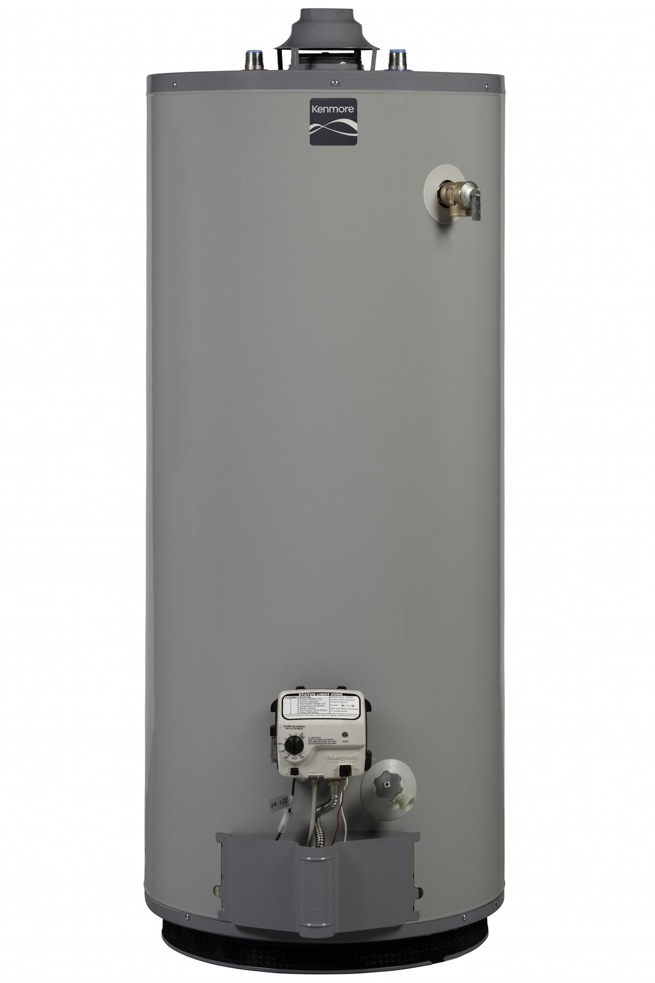 Kenmore 57940 40 Gal 9 Year Short Natural Gas Water